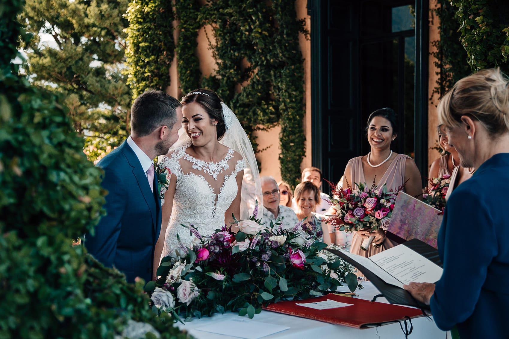 Villa del Balbianello outdoor wedding photography