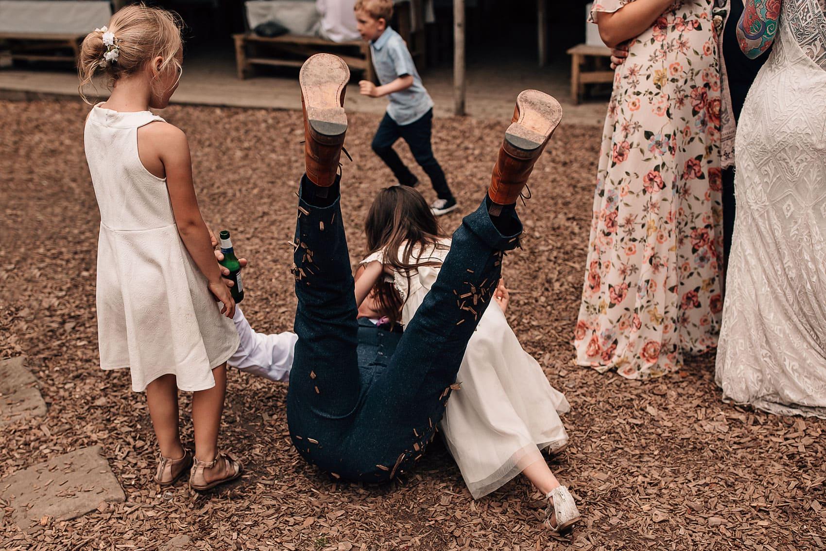 forest wedding dance-floor woodland