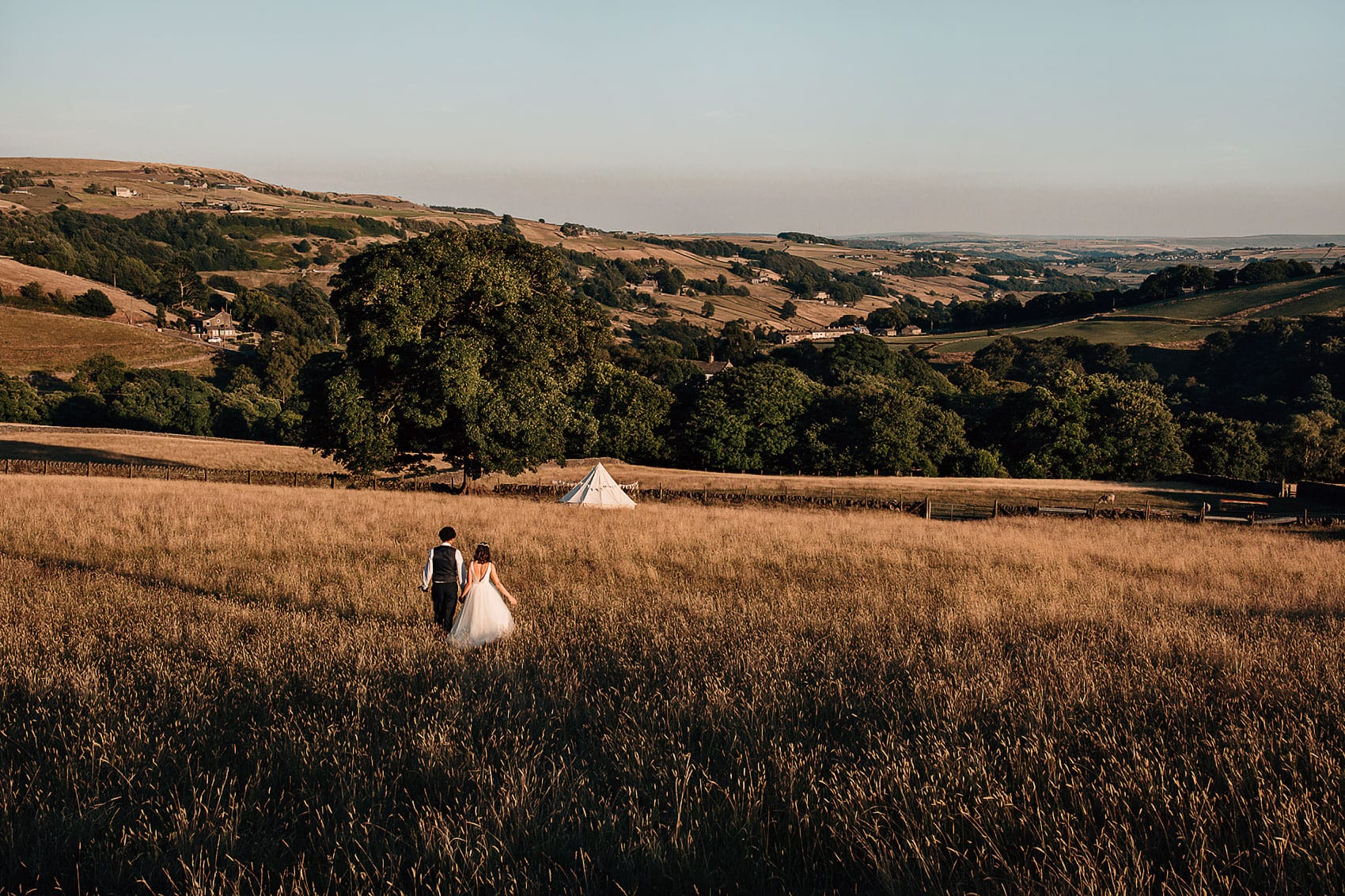 adventure wedding photography Yorkshire