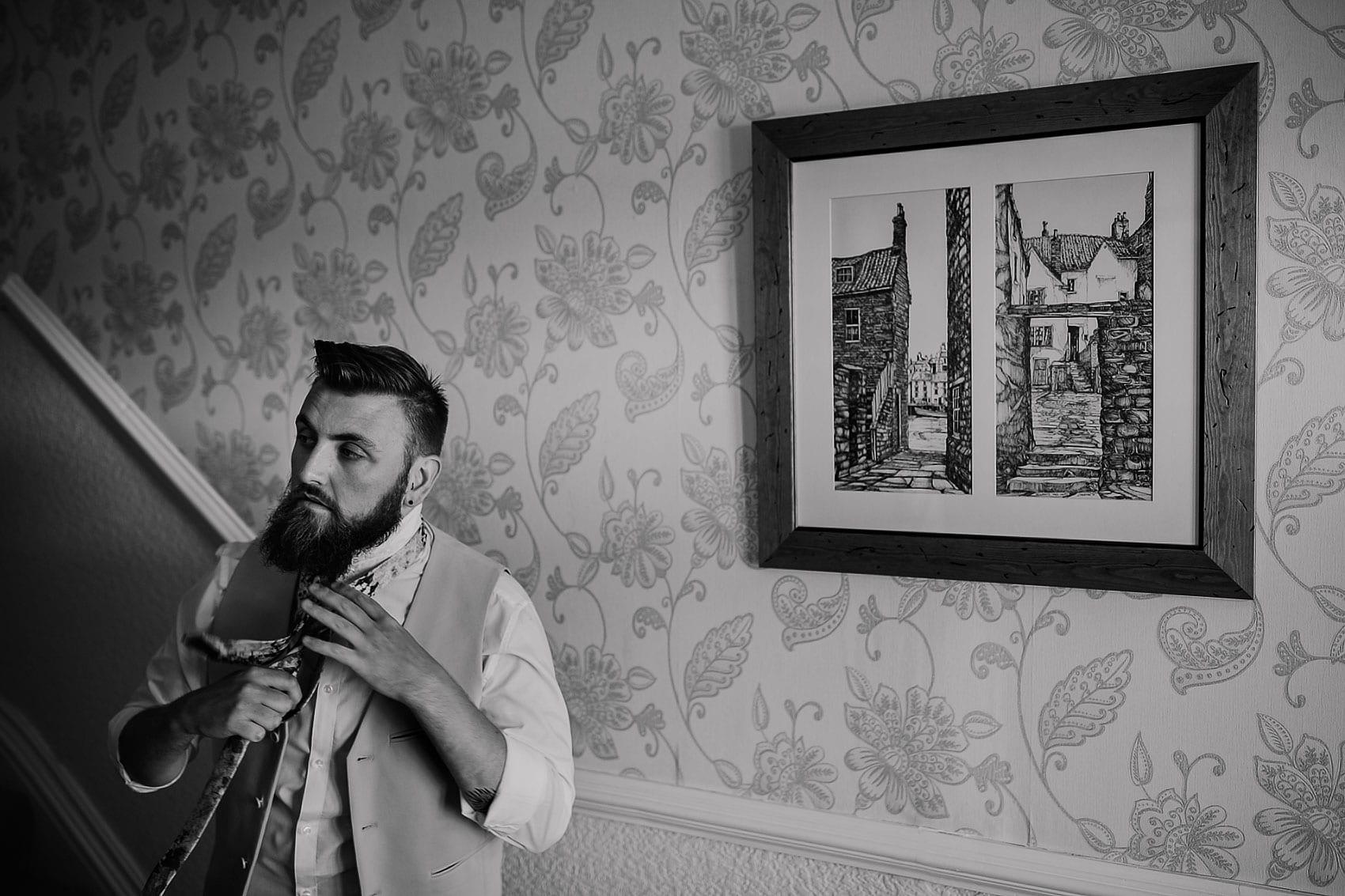 alternative couples wedding photography Yorkshire