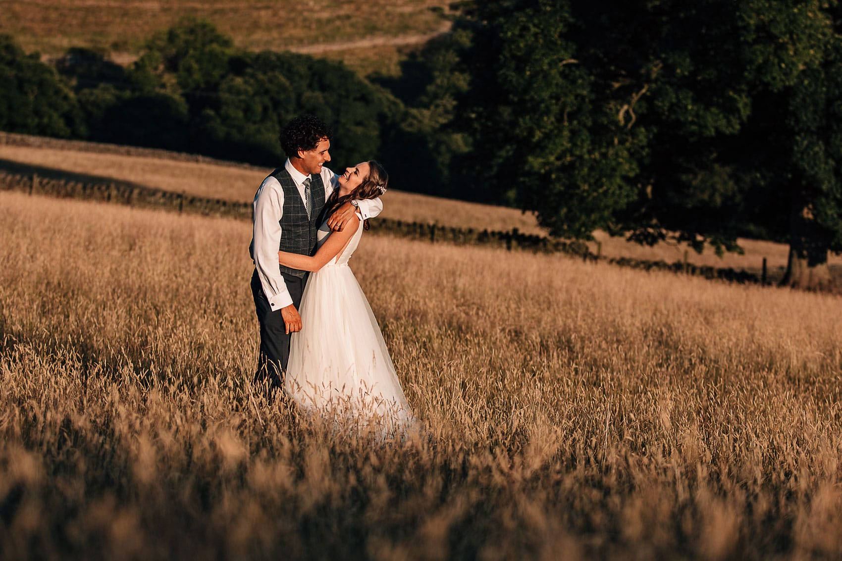 outdoor summer wedding photography Yorkshire
