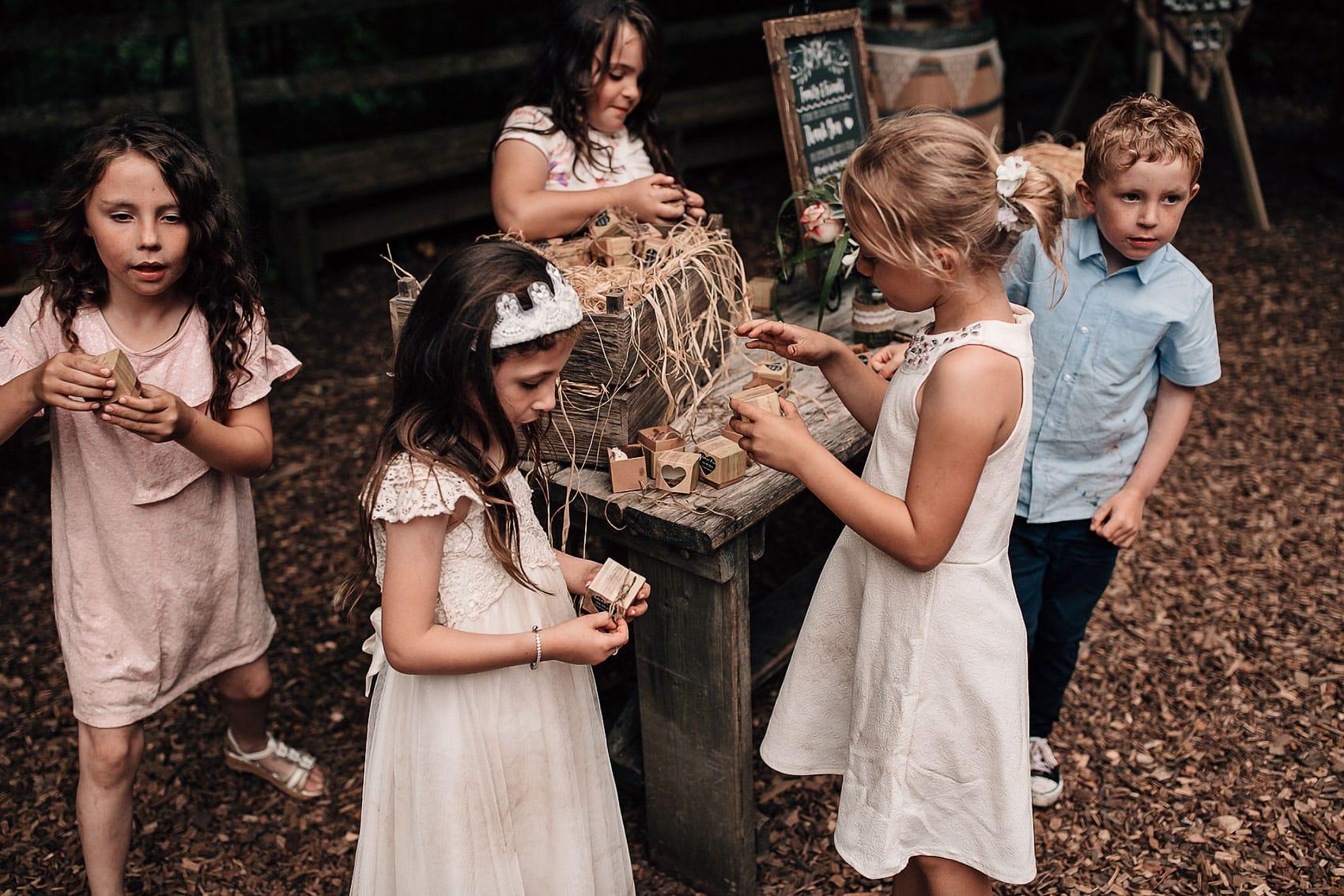 children at weddings alternative couples photographer