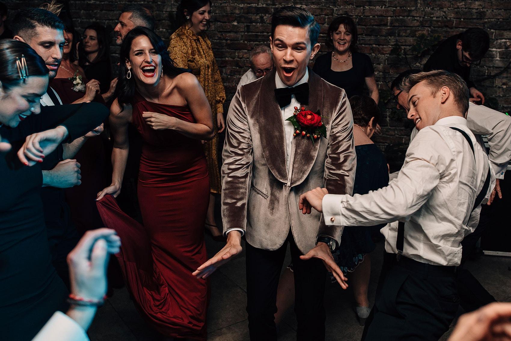 dance-floor photography Middleton Lodge wedding