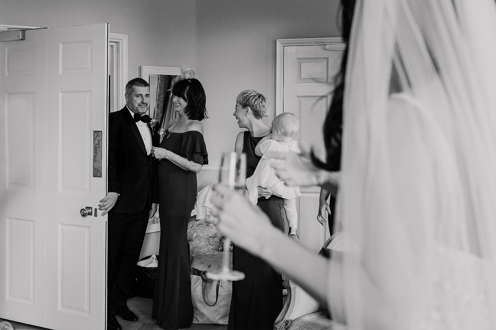 documentary wedding photography Middleton Lodge