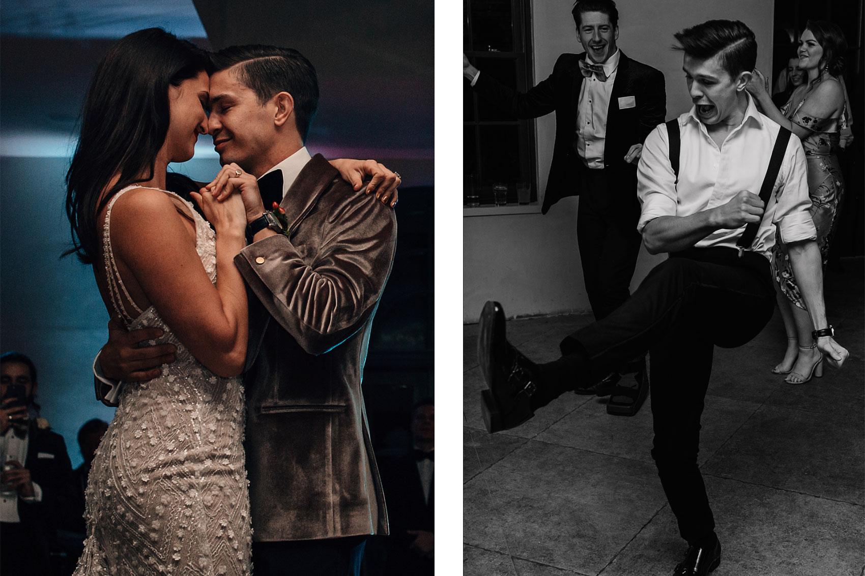 Gatsby style wedding party