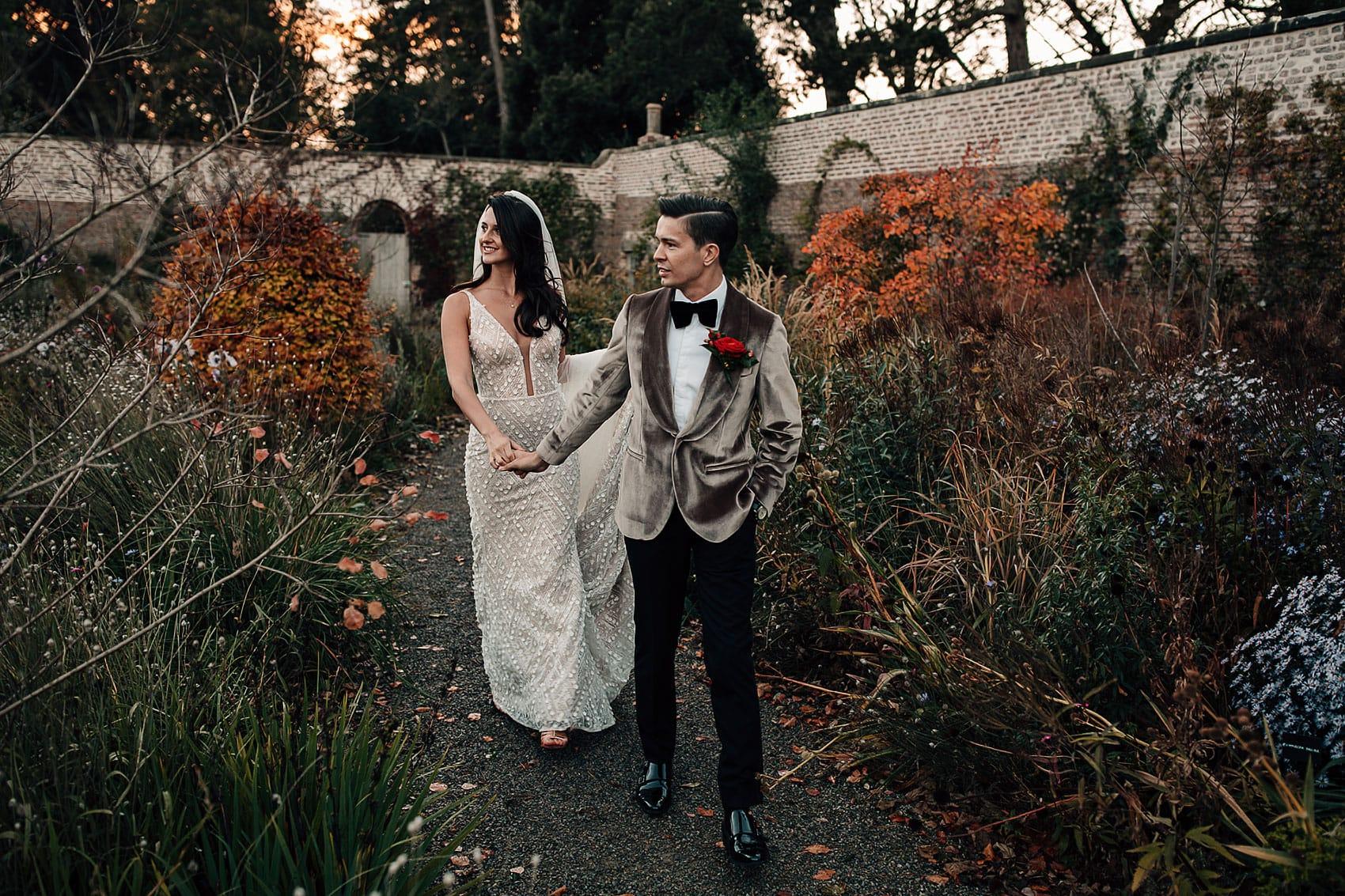 glamorous Hollywood style wedding photography