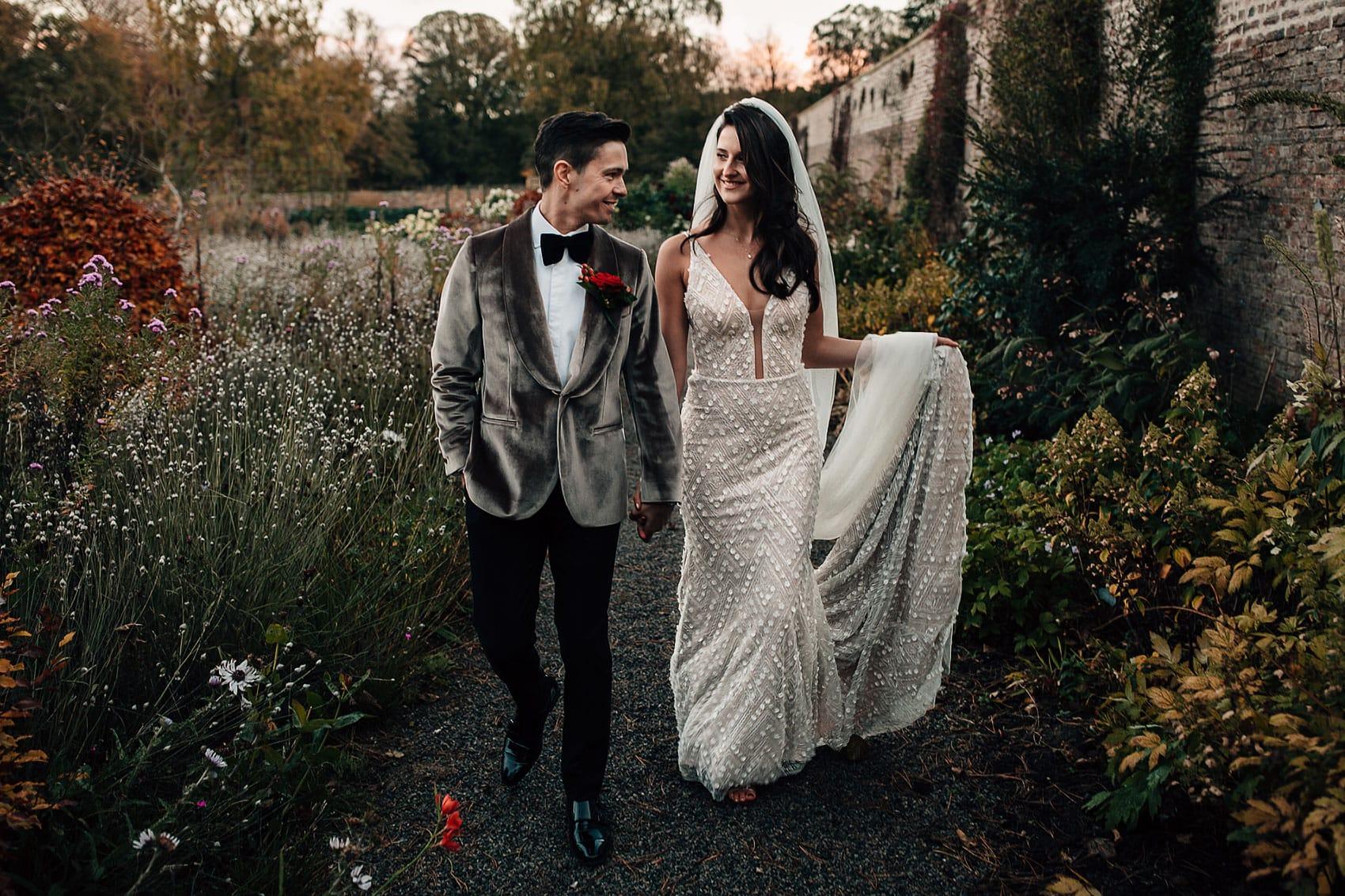 Hollywood style Gatsby wedding Yorkshire Middleton Lodge
