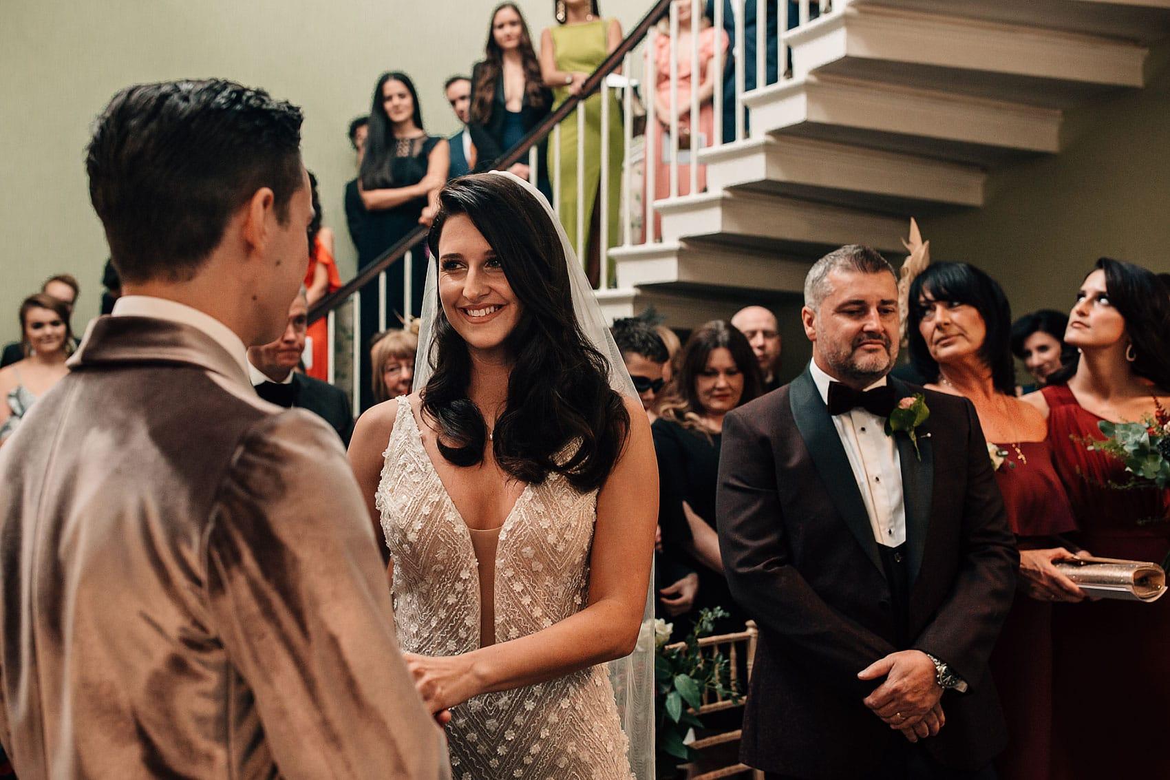 Hollywood style Gatsby wedding Yorkshire
