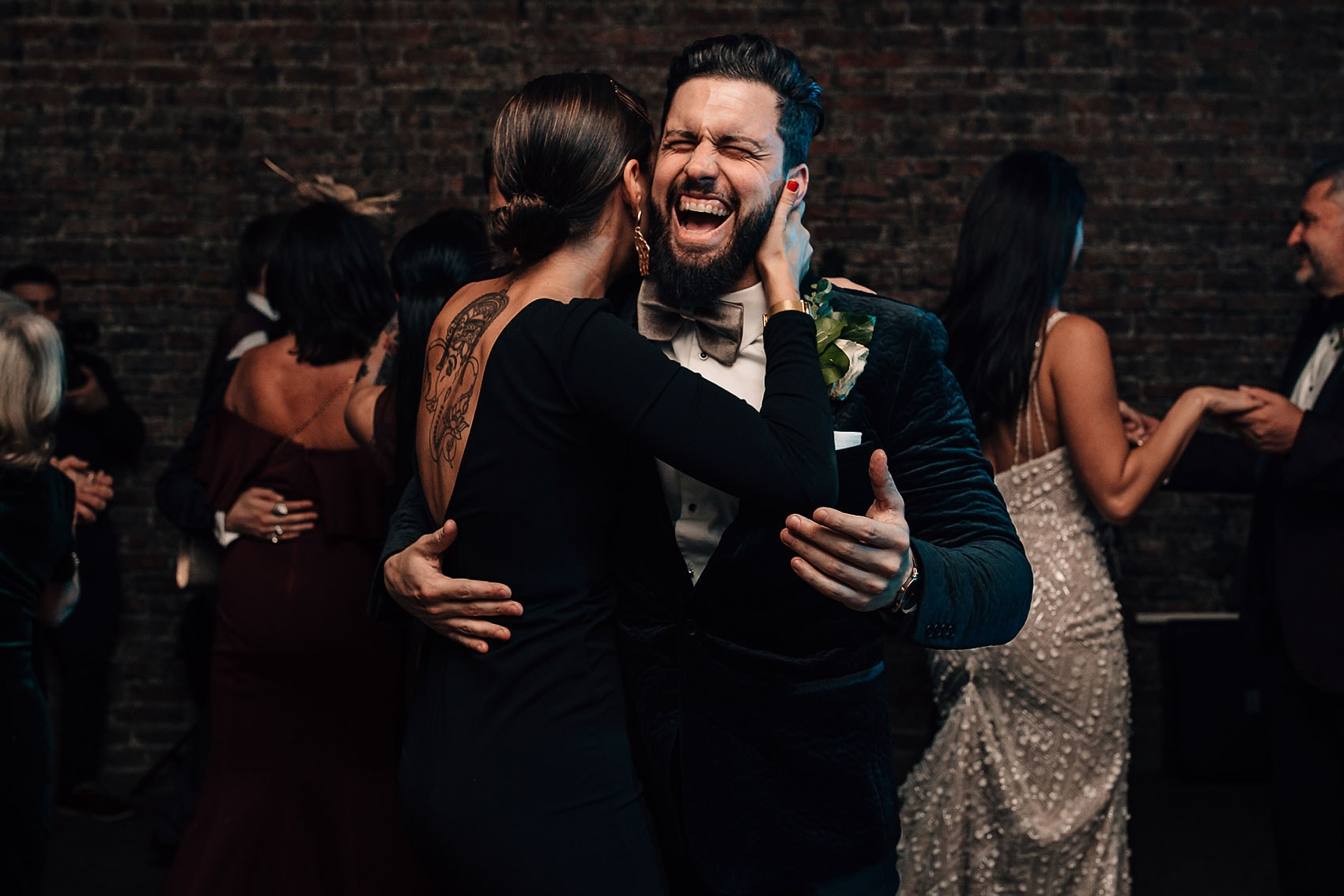 Gatsby style wedding photography dance-floor