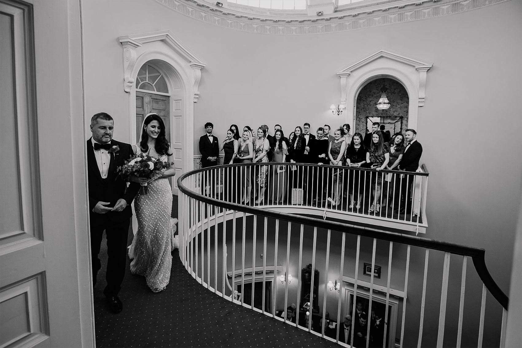 Hollywood glam wedding photography Middleton Lodge