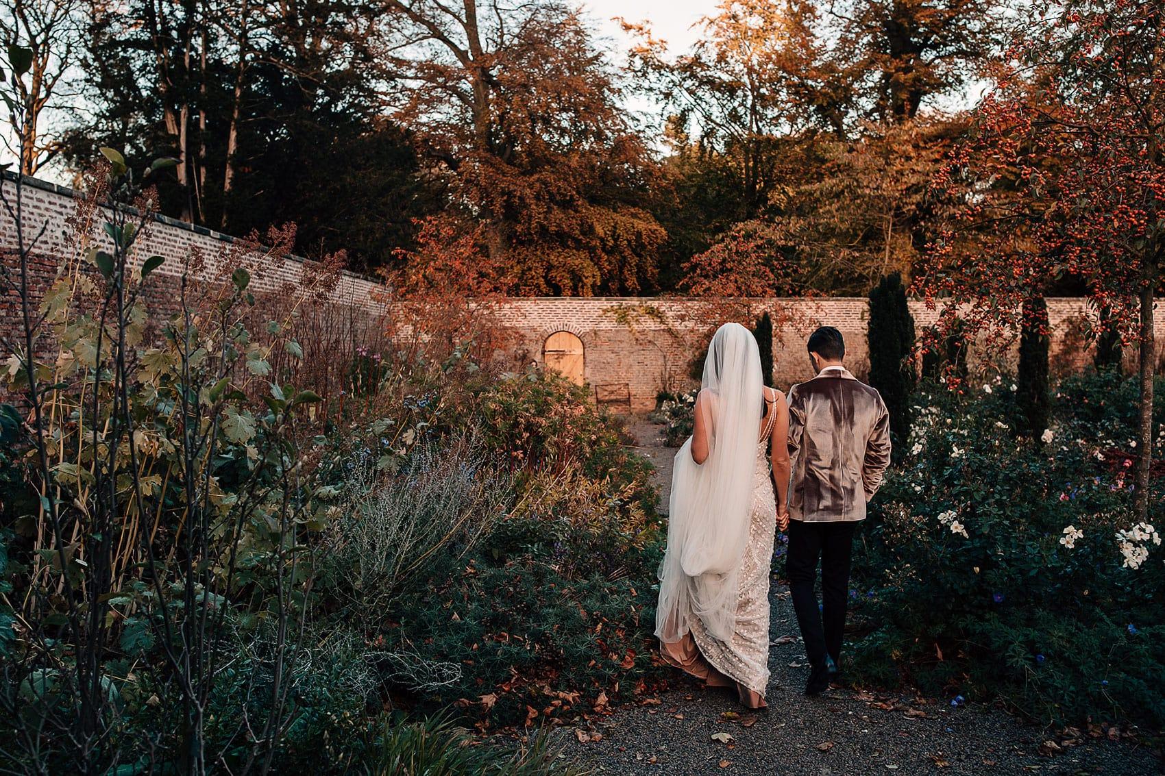 Middleton Lodge Hollywood style autumnal wedding