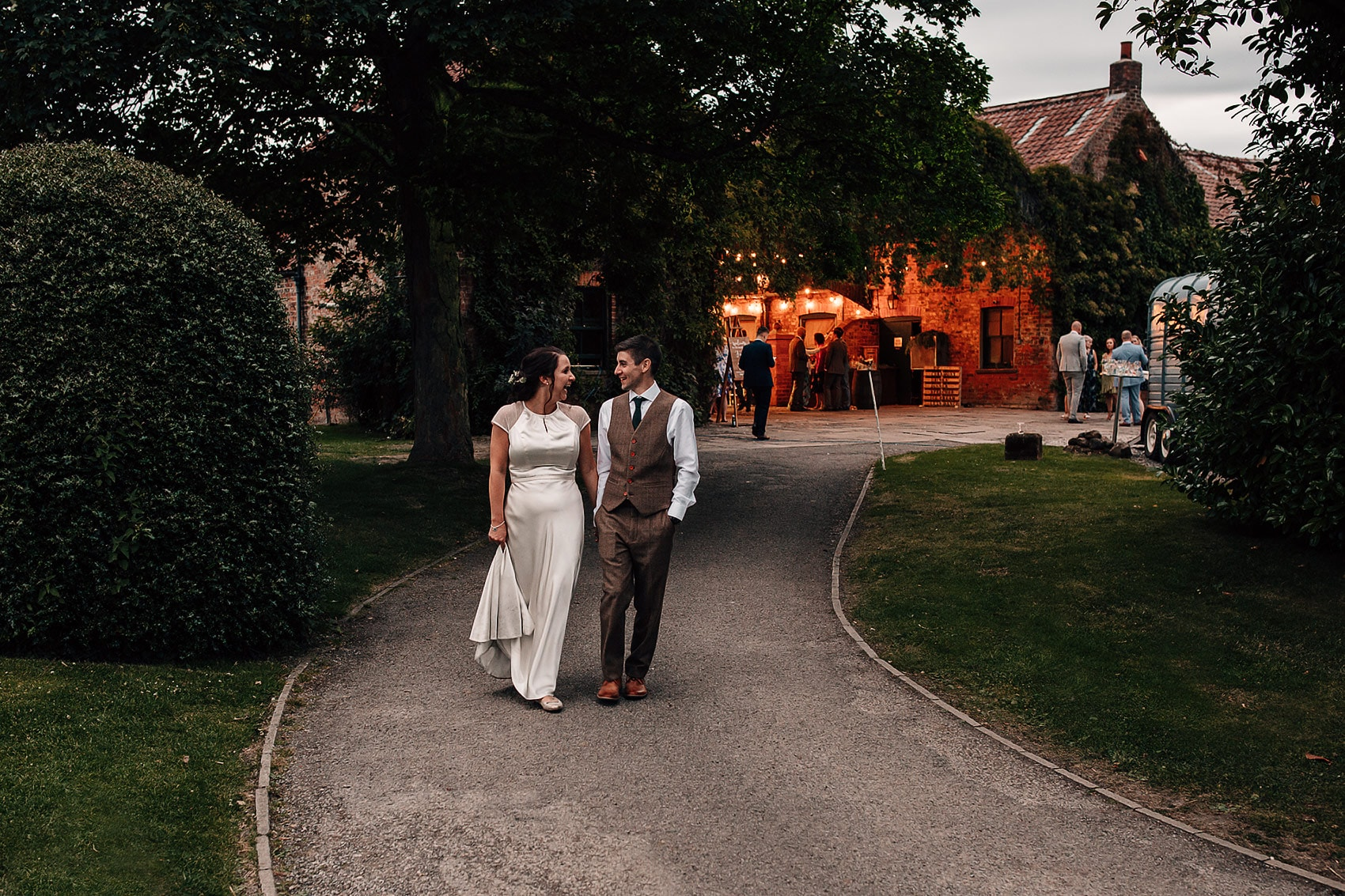 Crayke Manor Yorkshire wedding photographer