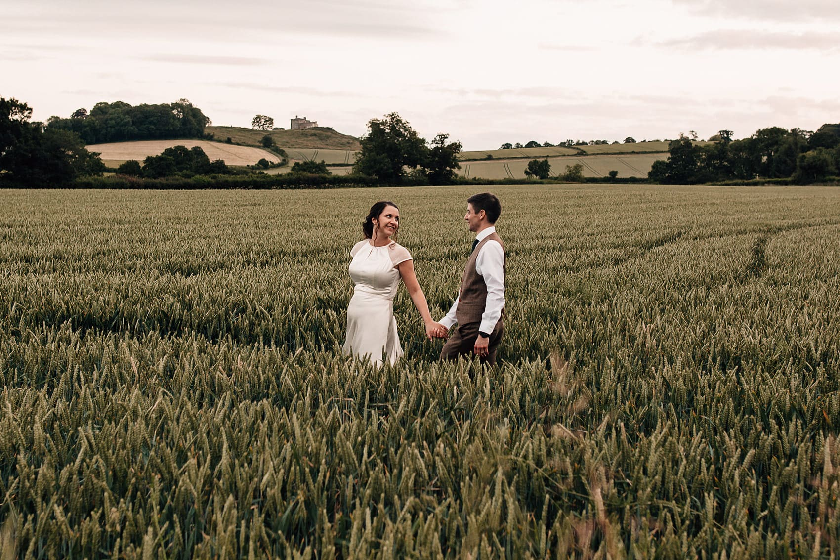 Yorkshire outdoor wedding photographer
