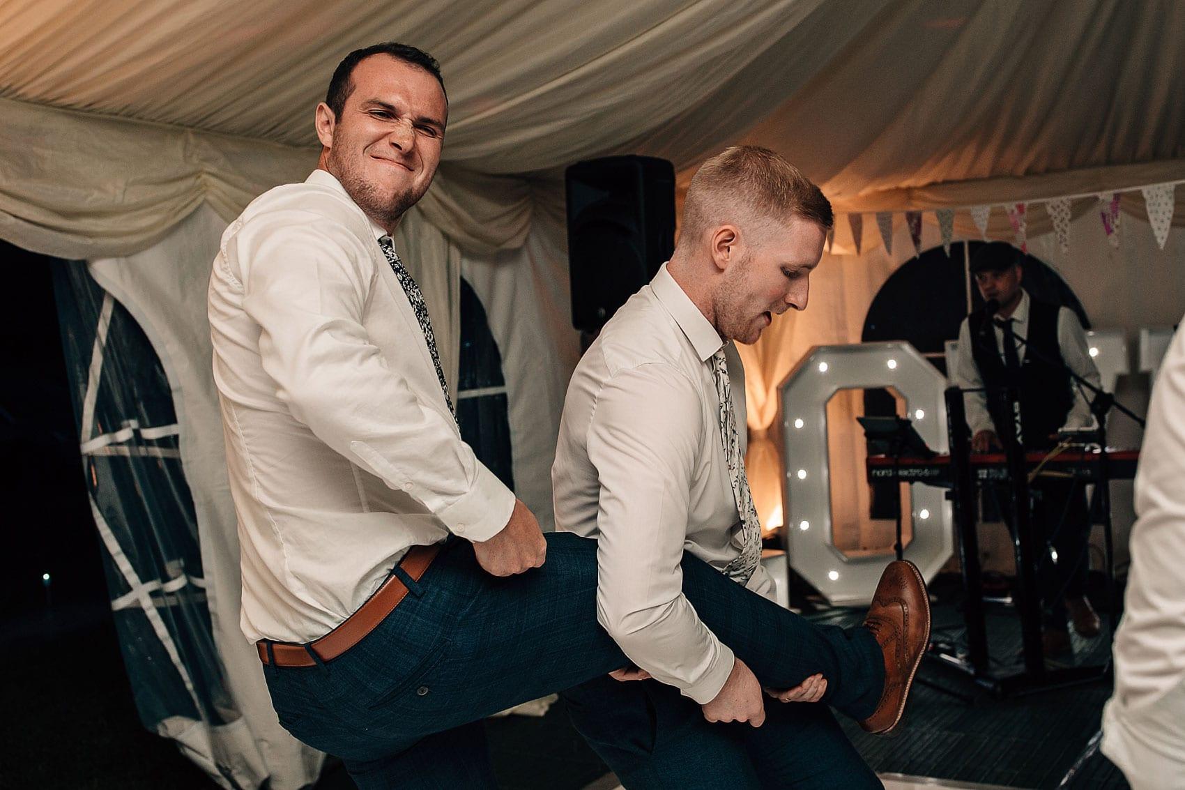 farm wedding dance-floor