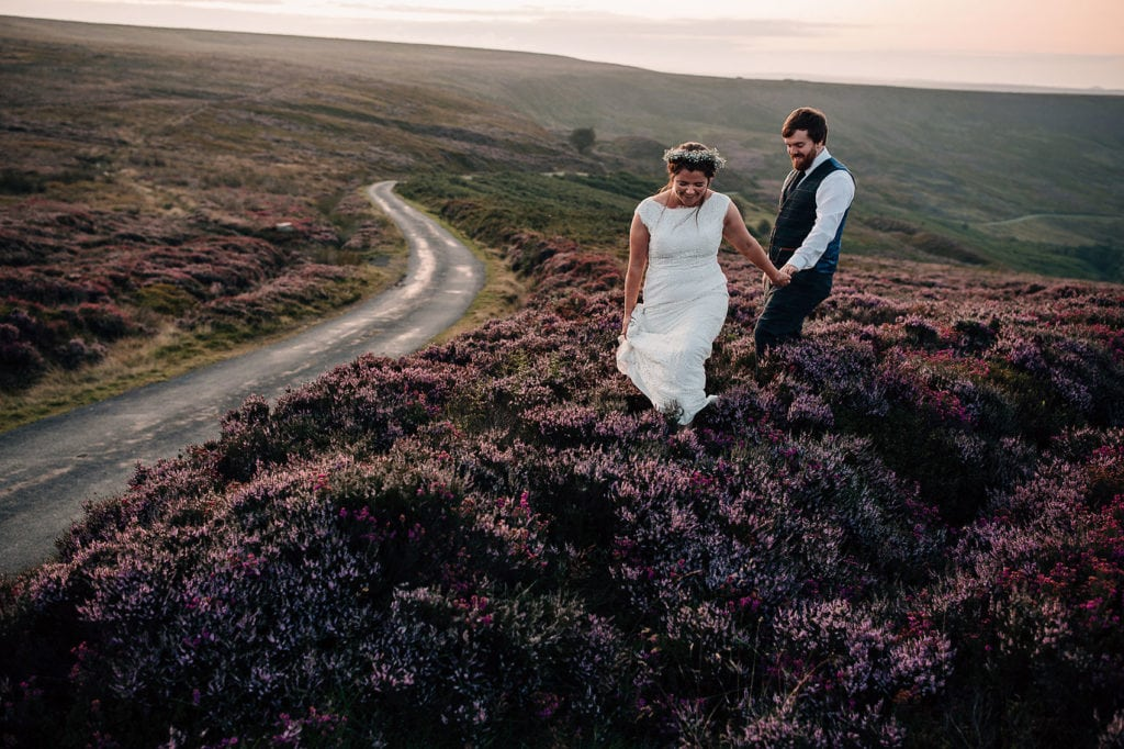 adventure wedding photographer Yorkshire