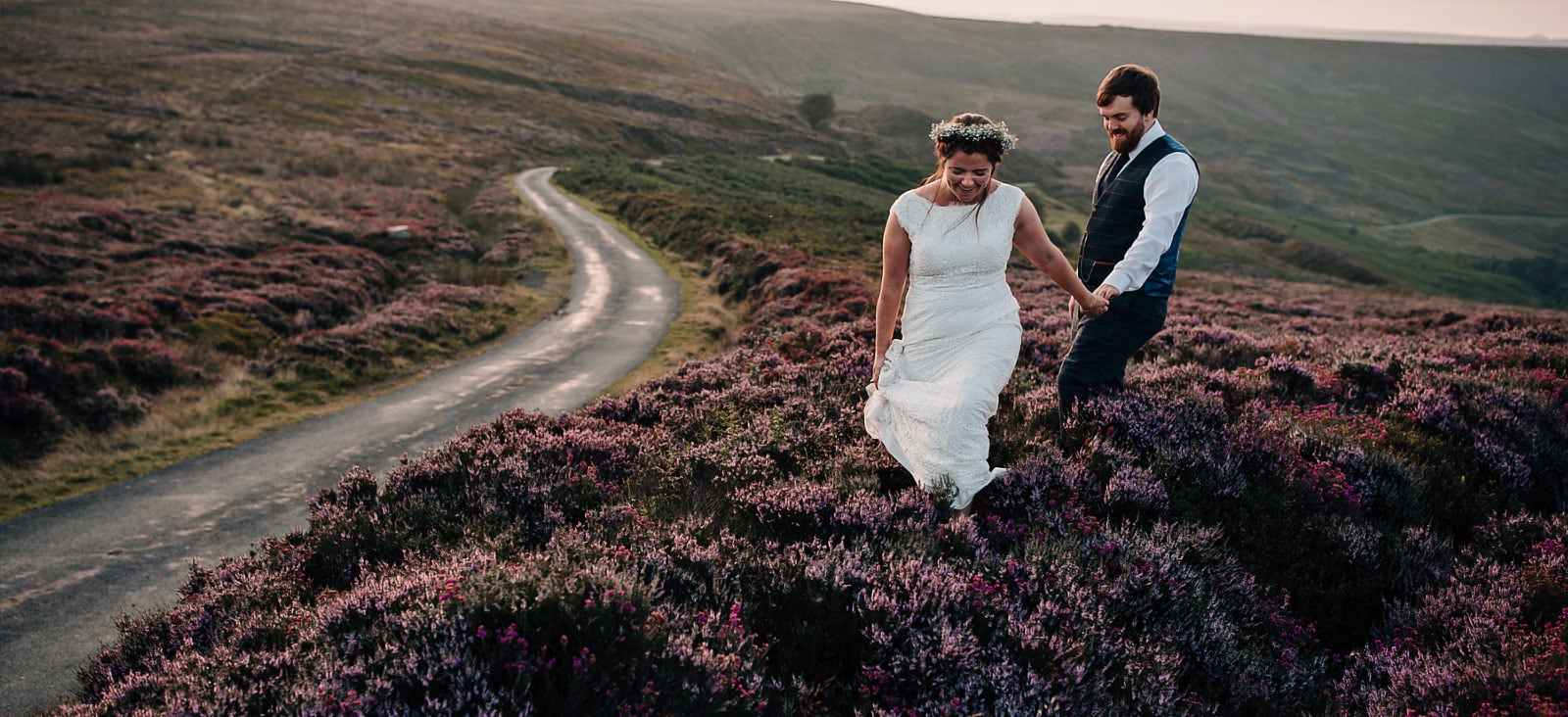 Farm Wedding Photography – Yorkshire Moors