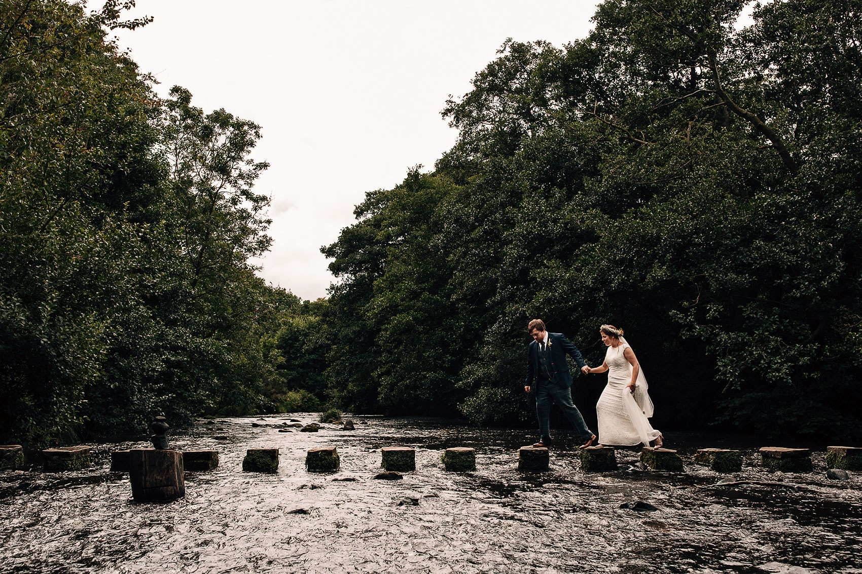 adventurous North Yorkshire wedding photography