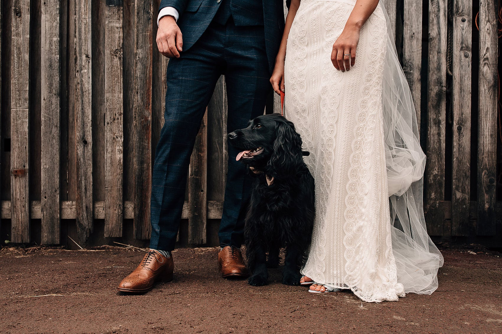 laid back garden wedding pets photography Yorkshire