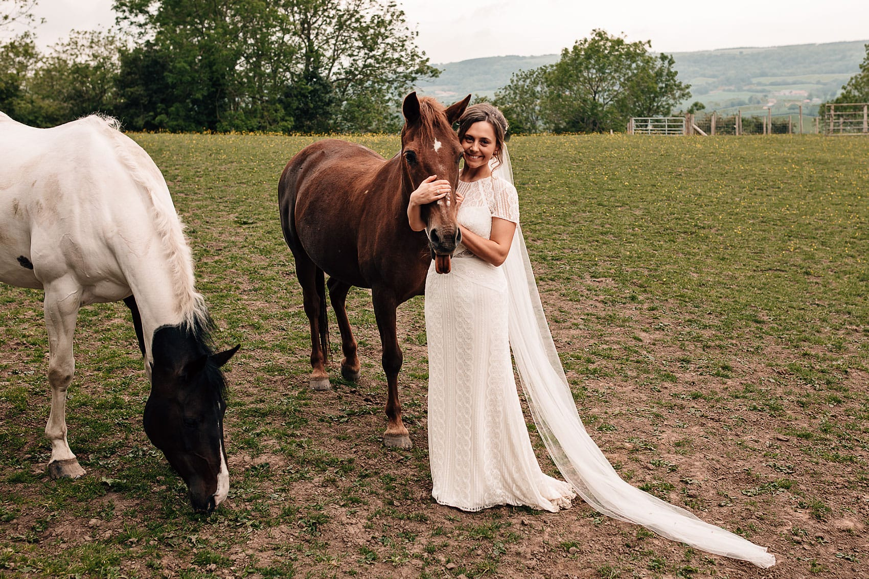 horse stables wedding photography North Yorkshire
