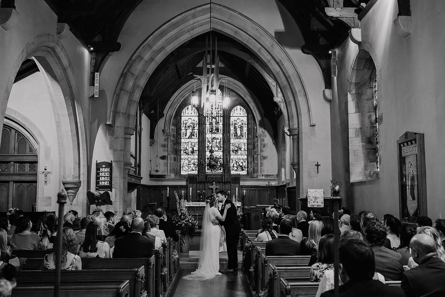 village church wedding photography North Yorkshire