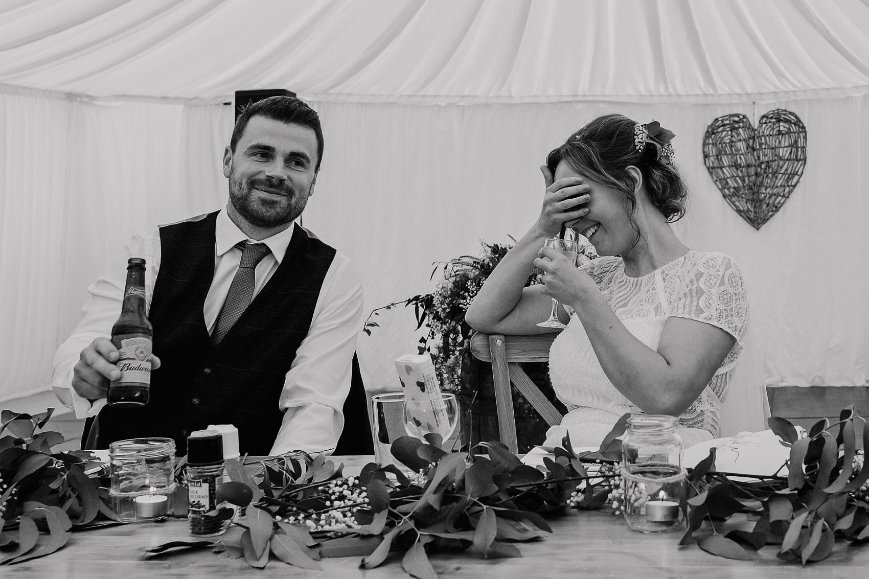 countryside back garden marquee wedding photography