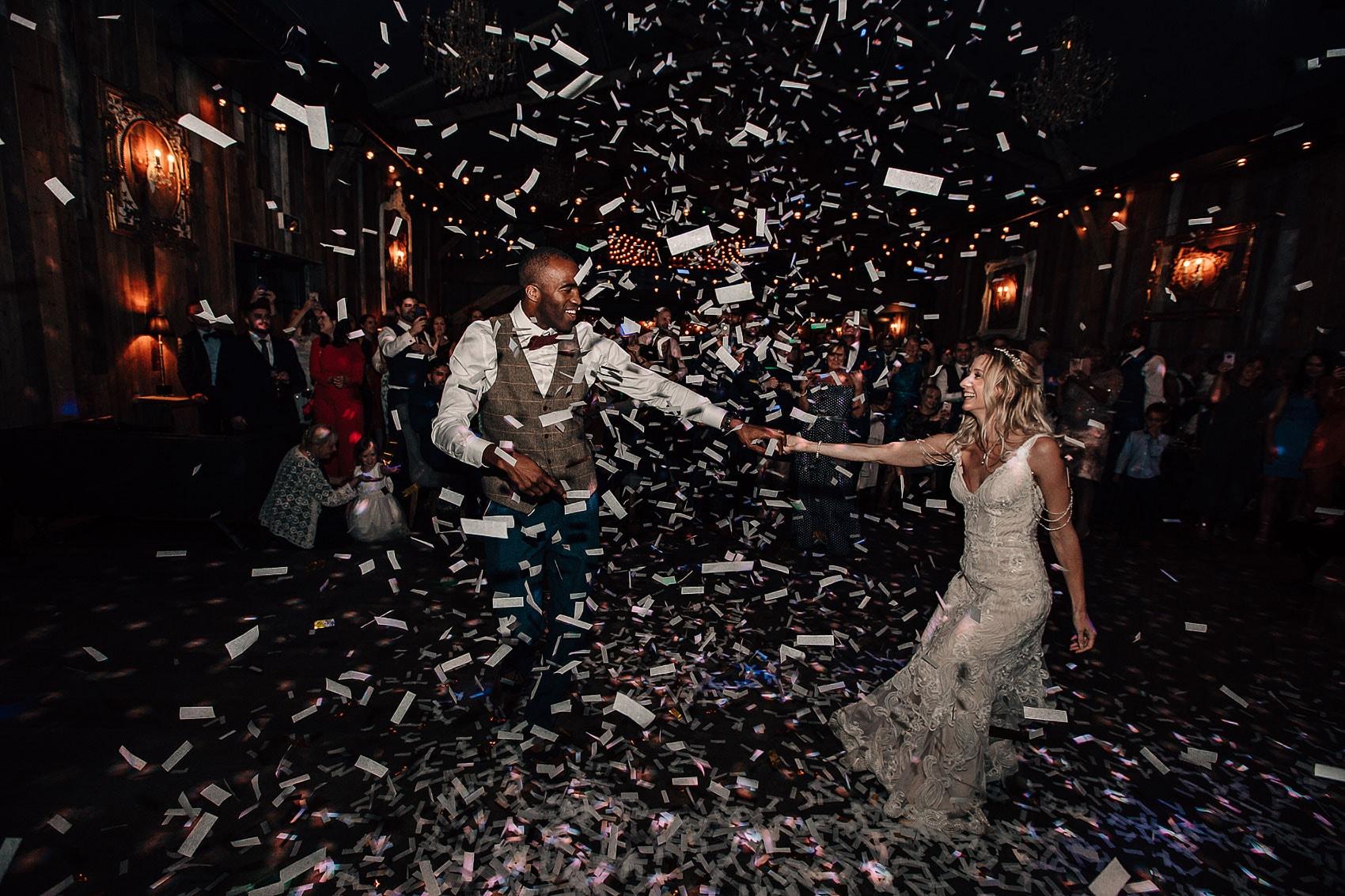 Yorkshire wedding dance-floor photography Wharfedale Grange