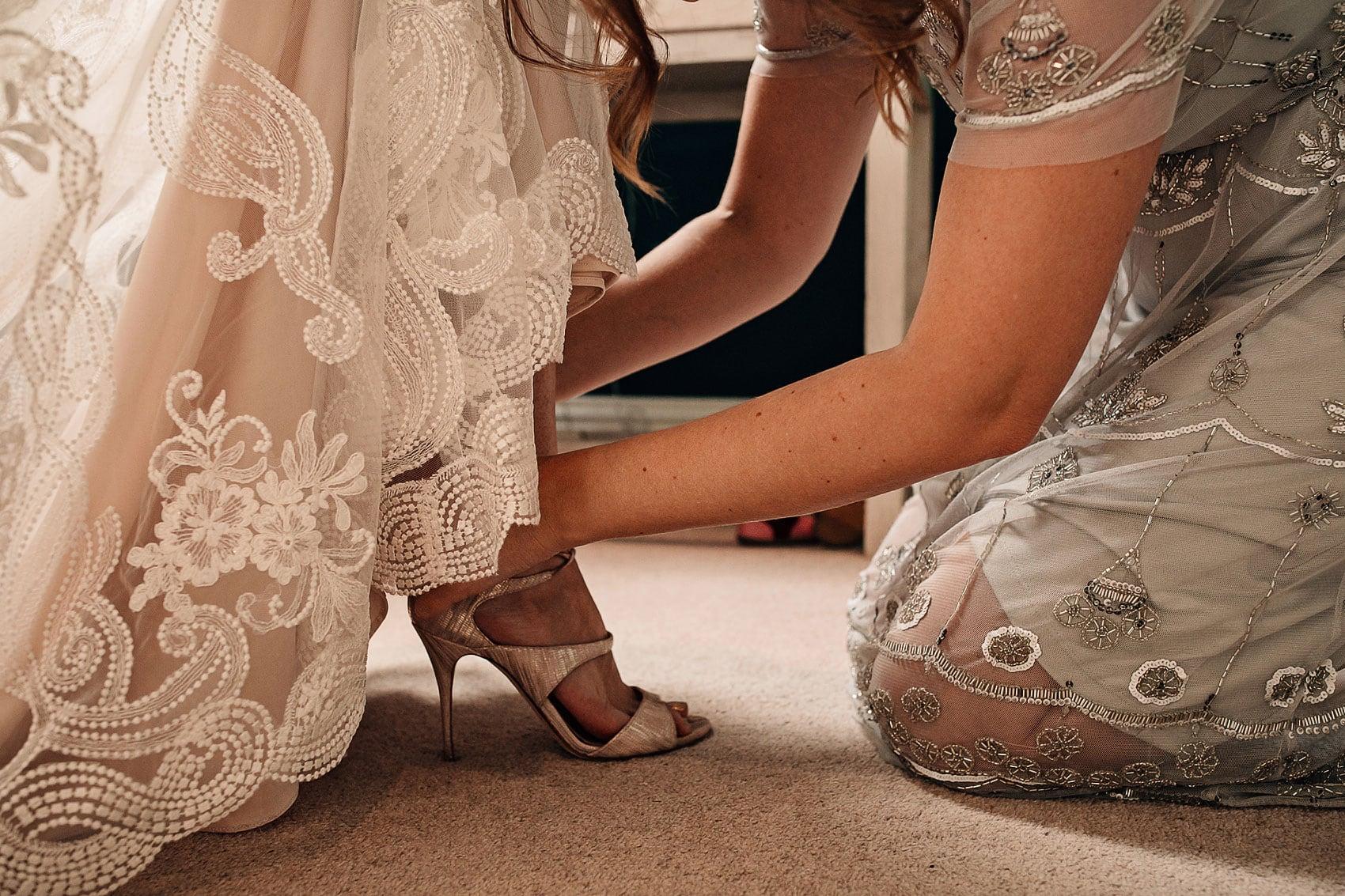 bridal preparations wedding photography Yorkshire