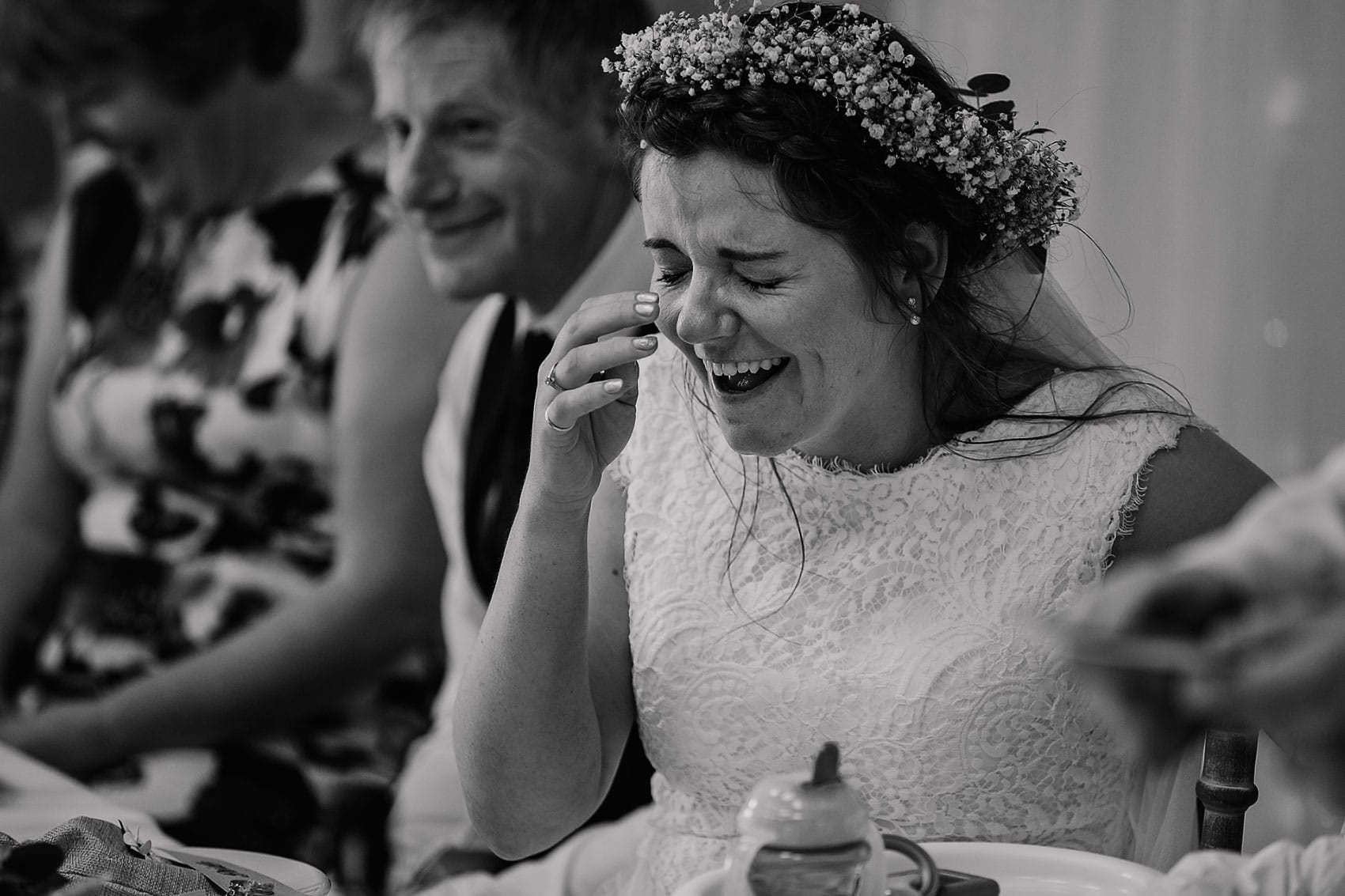 farm wedding North Yorkshire speeches photography