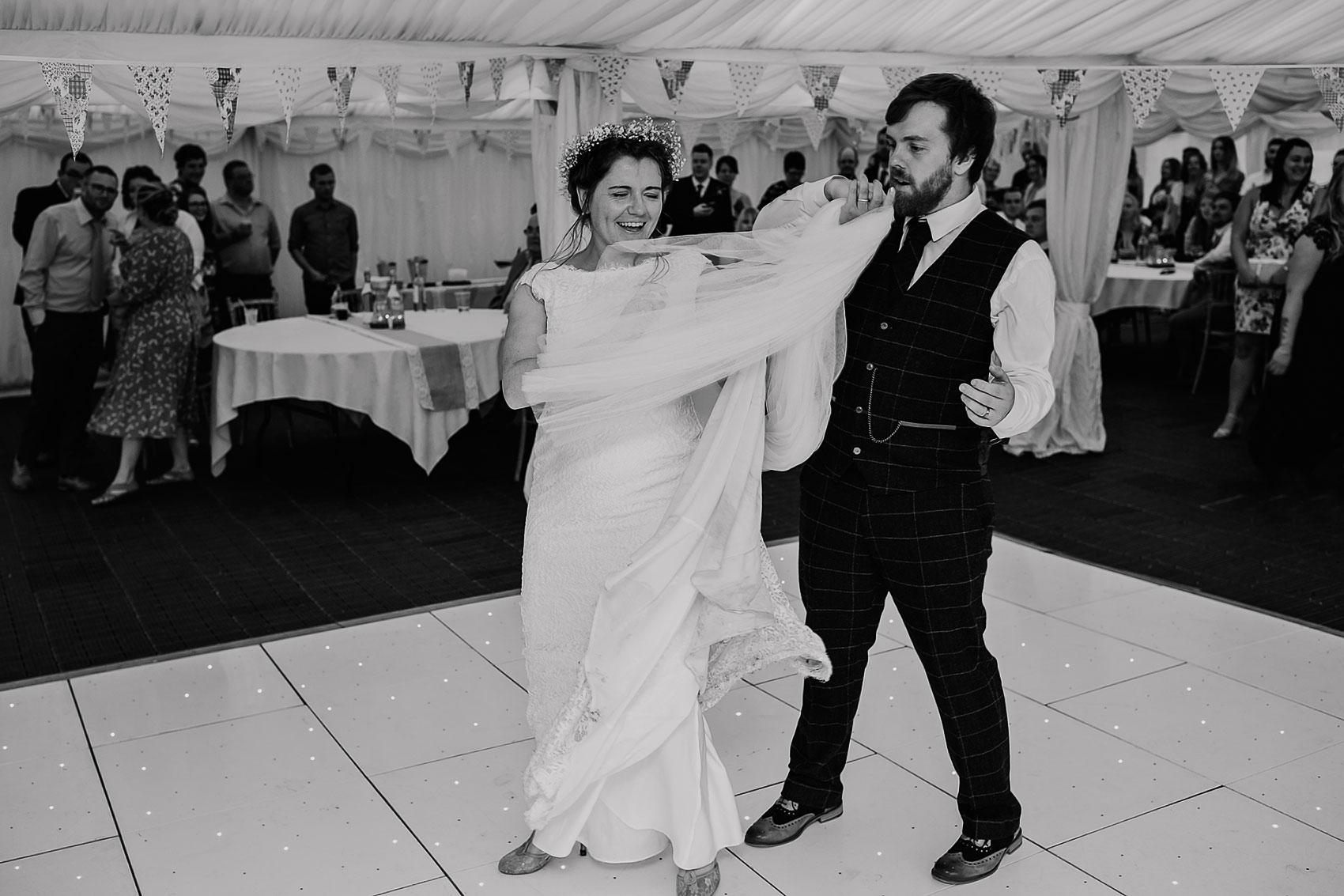 home farm wedding photography dance-floor