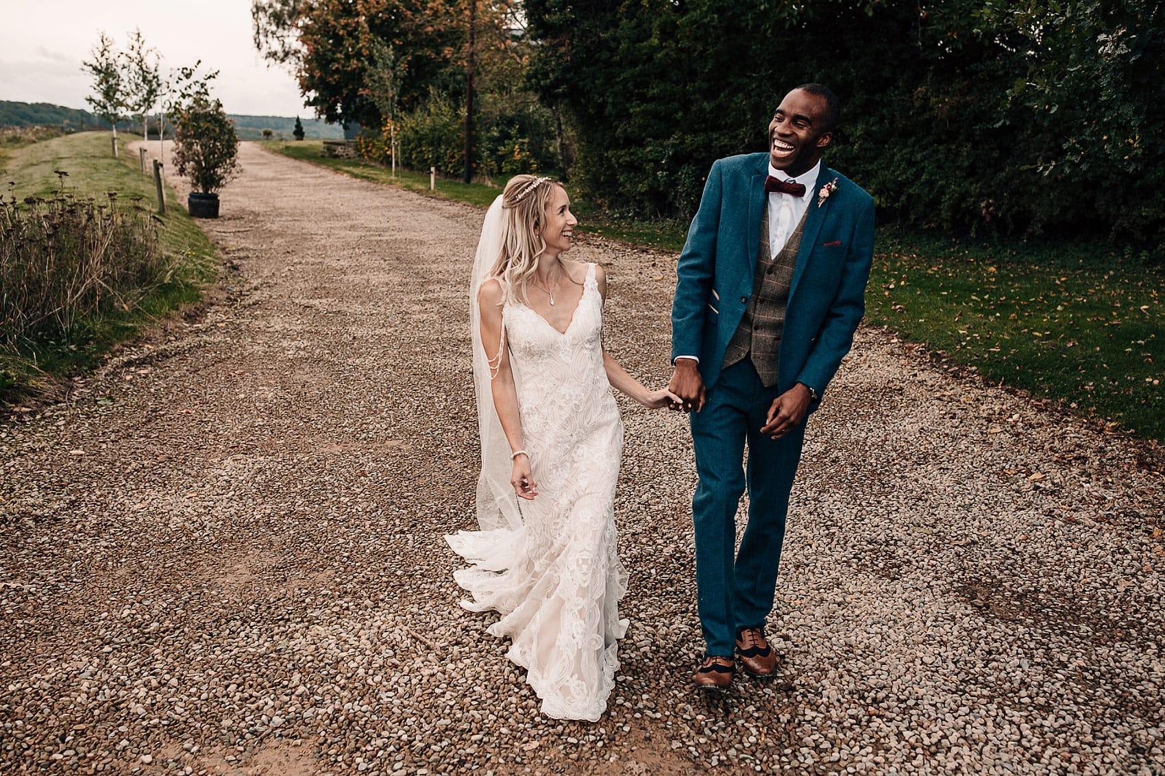 Wharfedale Grange wedding photography Yorkshire bride groom