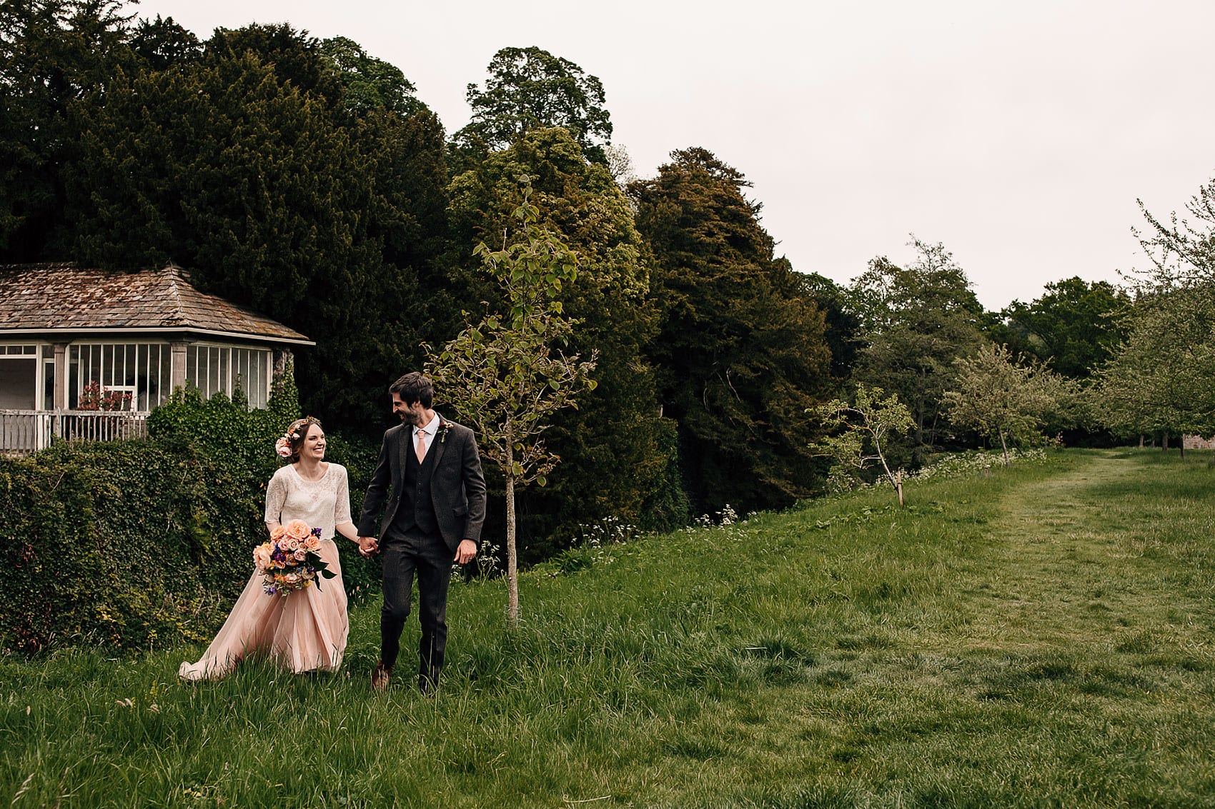 Yorkshire wedding photography bohemian wedding