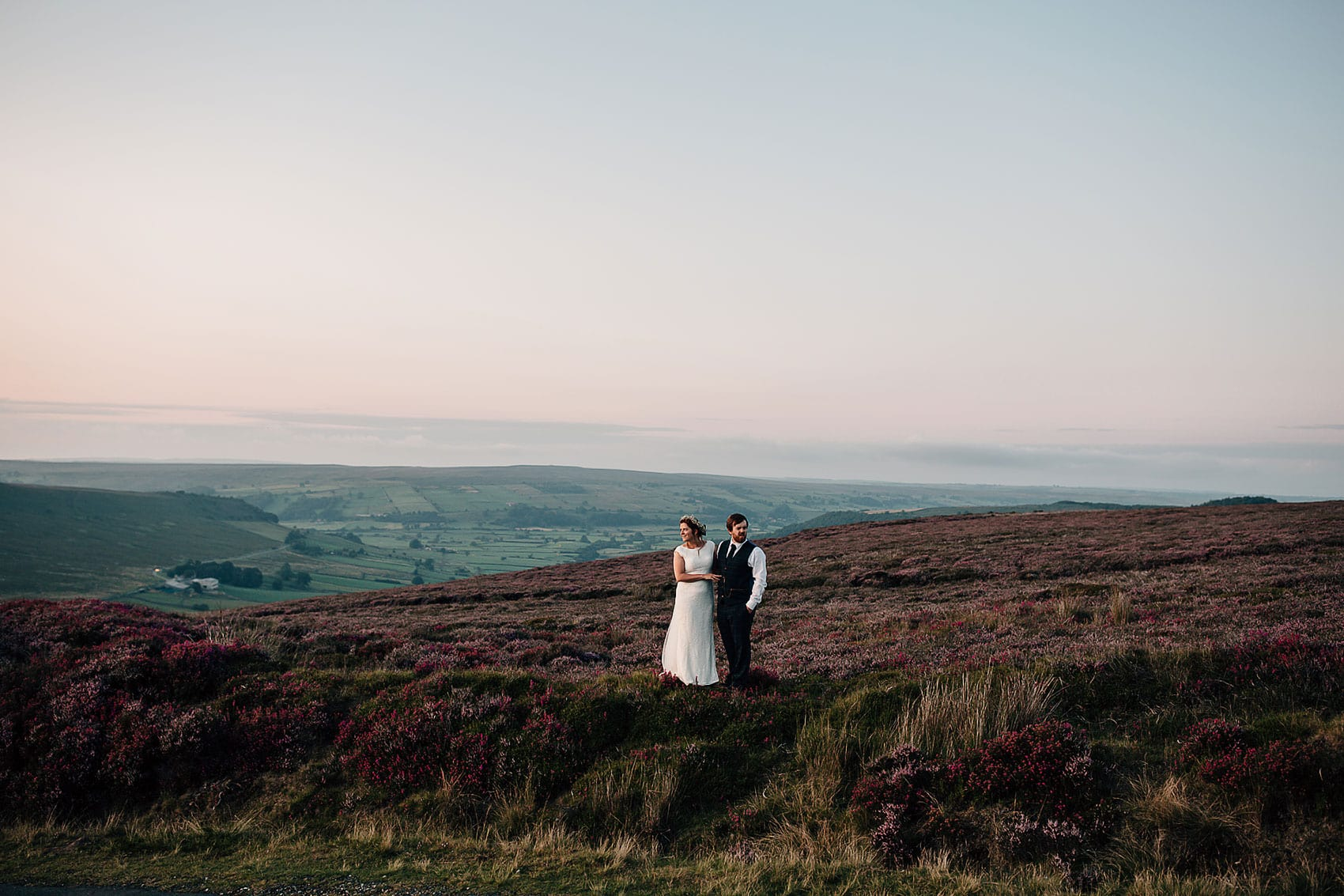 Yorkshire wedding photography outdoor adventure wedding