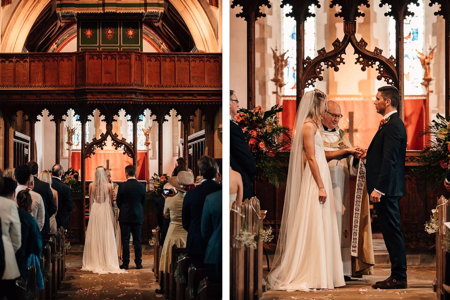 church ceremony documentary wedding photography