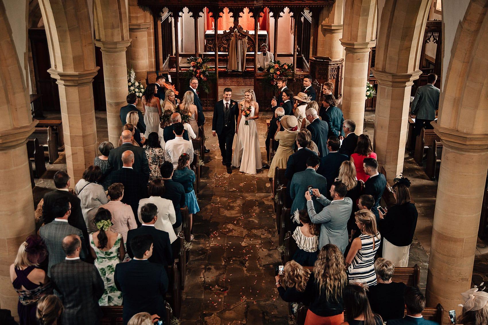 church wedding ceremony photography