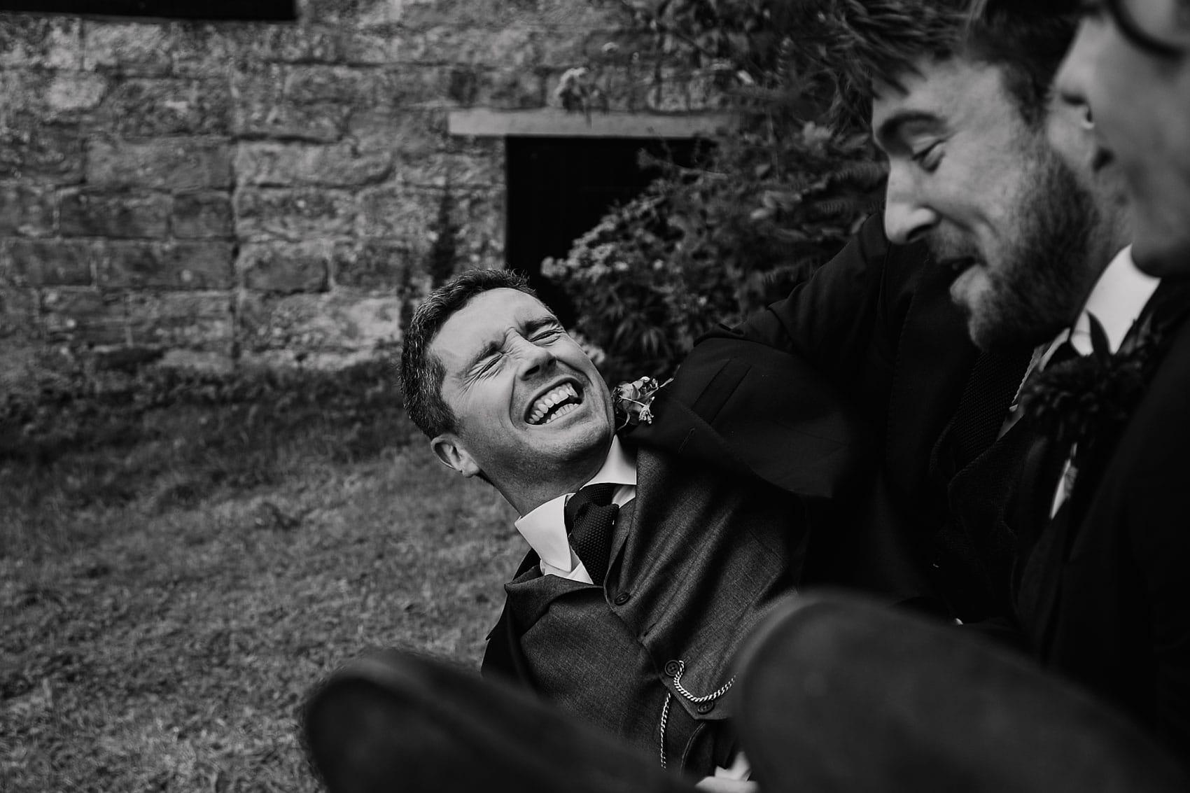 groomsmen documentary wedding photography