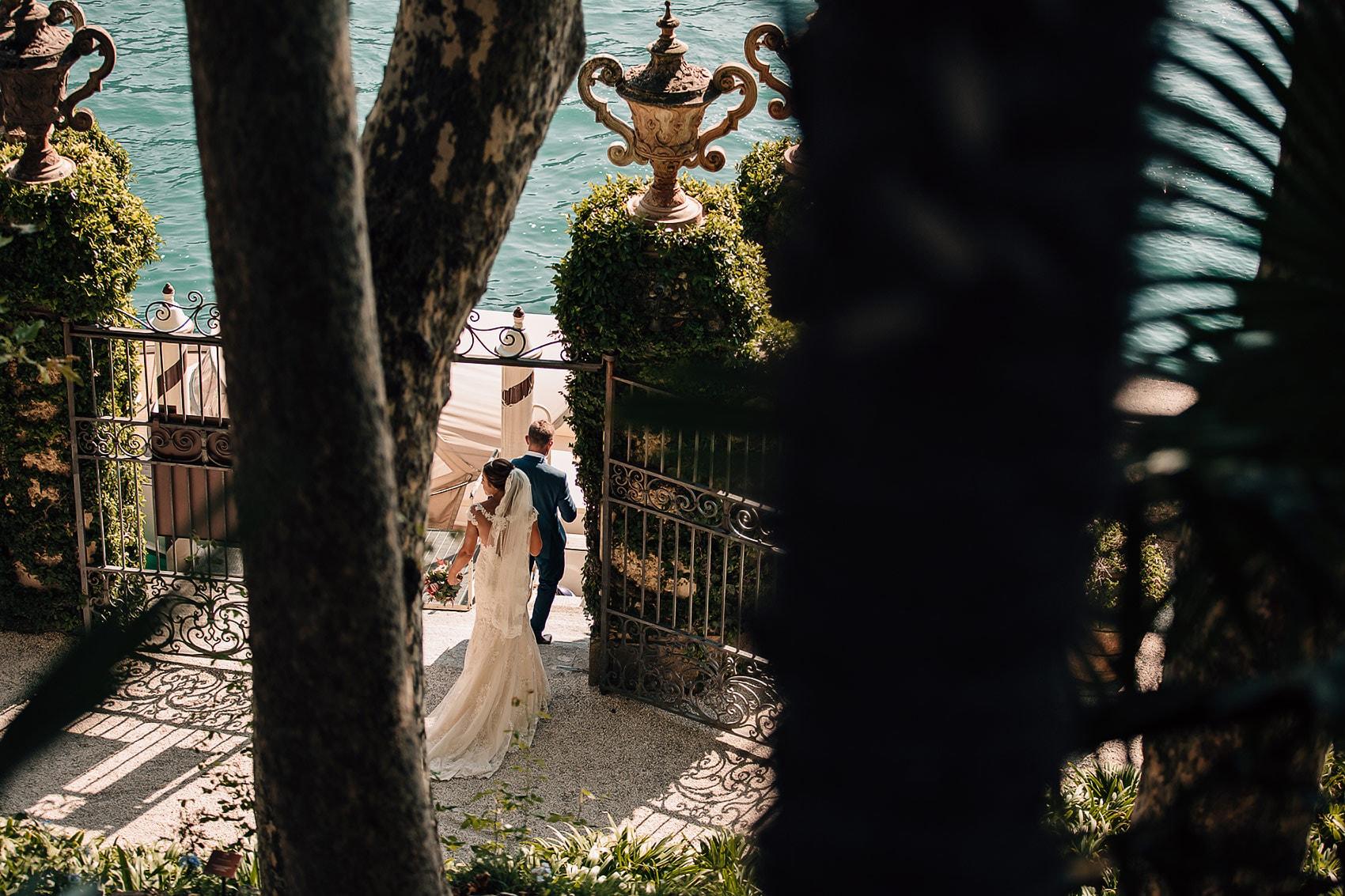 Italy wedding photography Villa del Balbianello