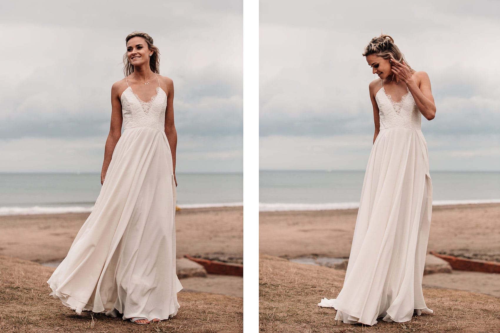 beach wedding dress inspiration
