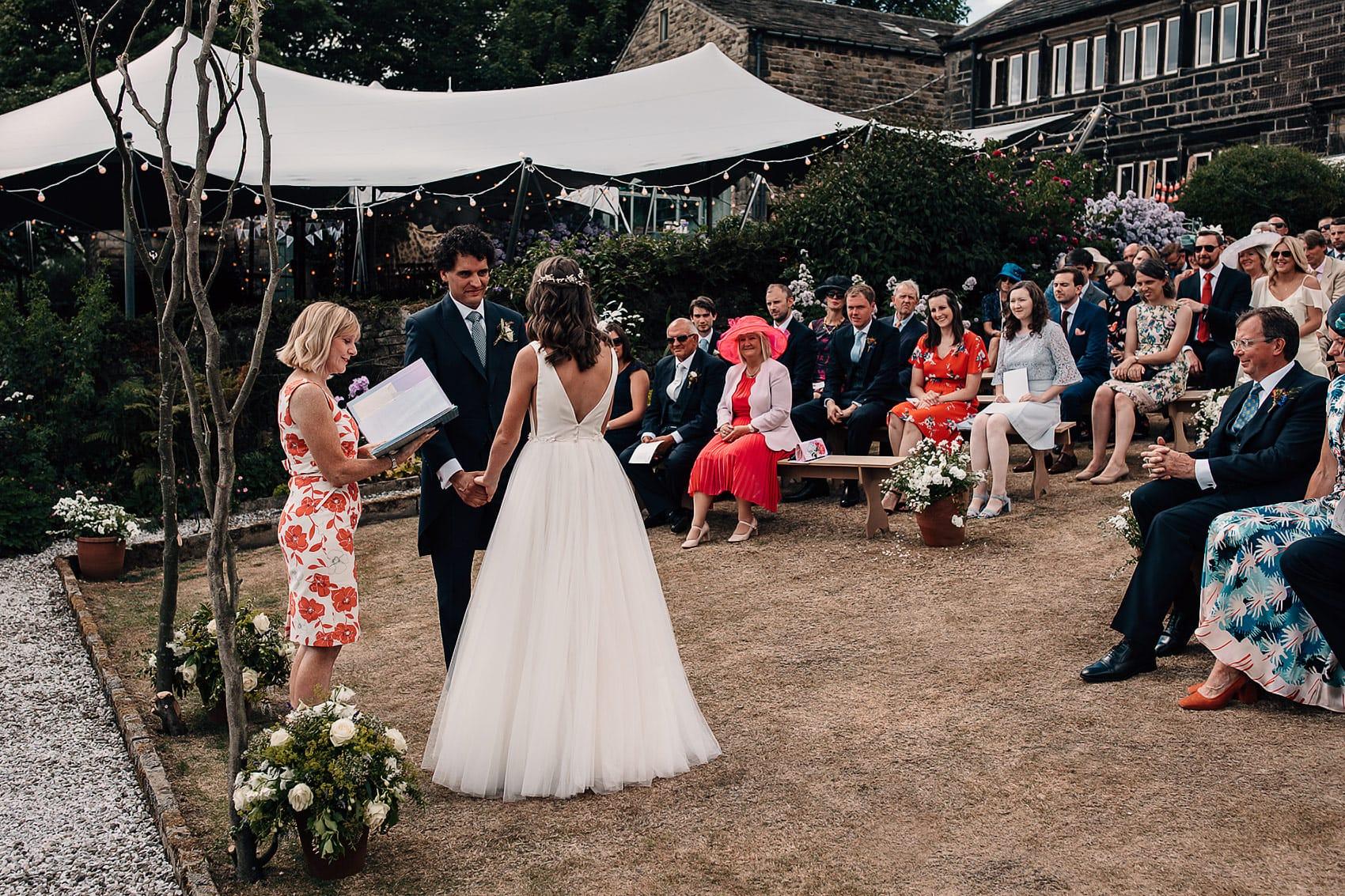 backless wedding dress outdoor wedding