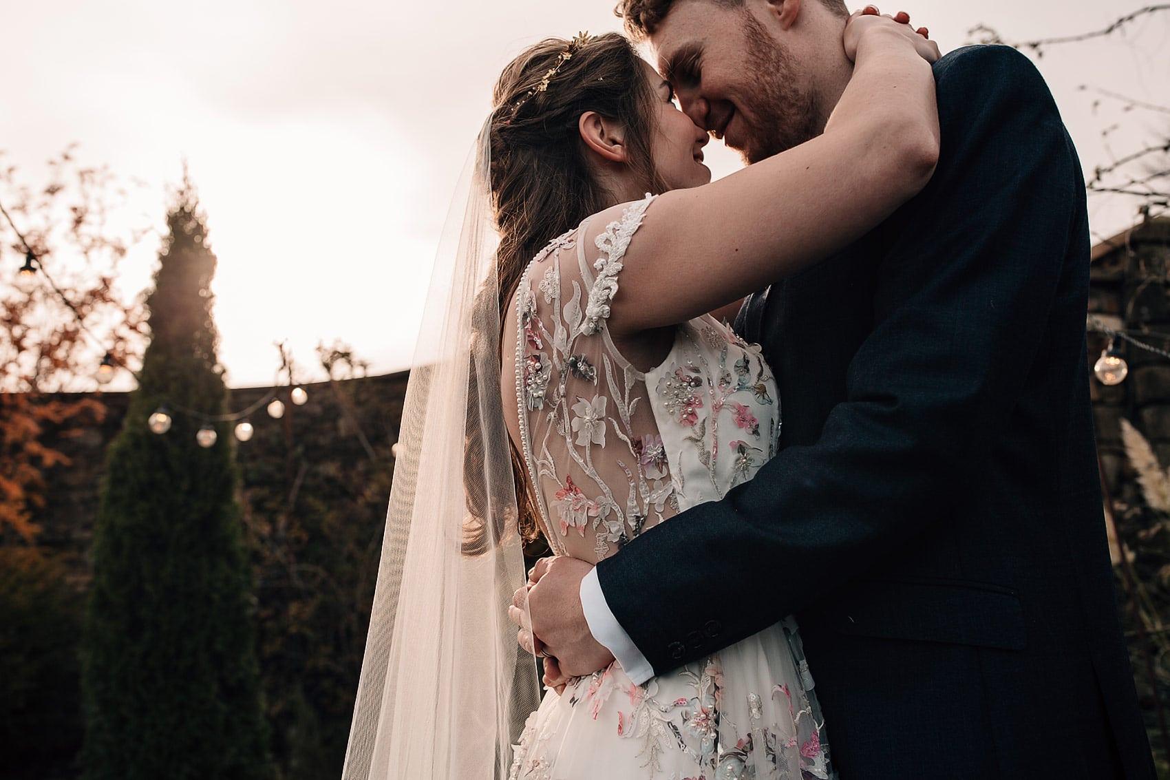 creative bride floral wedding dress inspiration