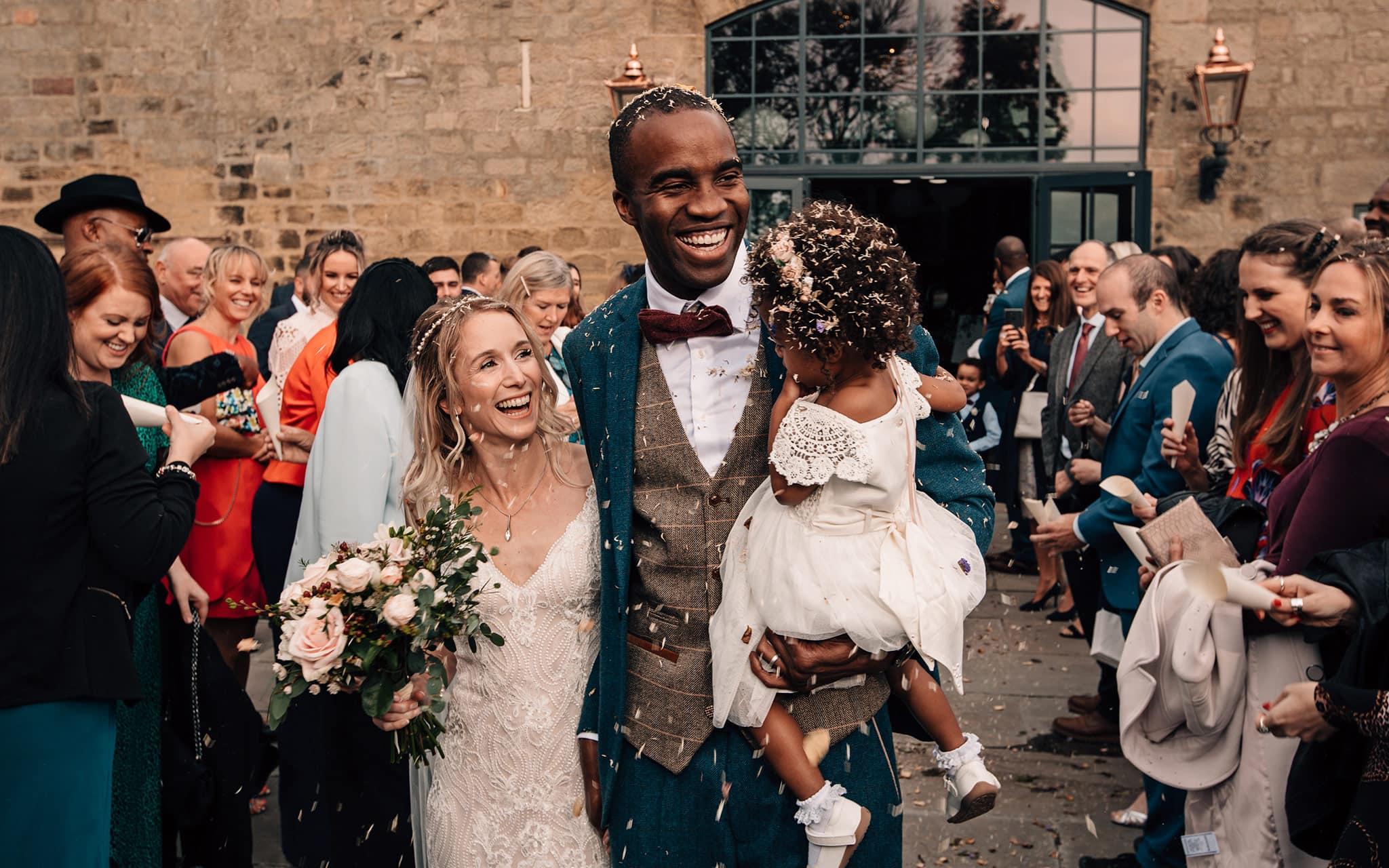 barn wedding photography Yorkshire