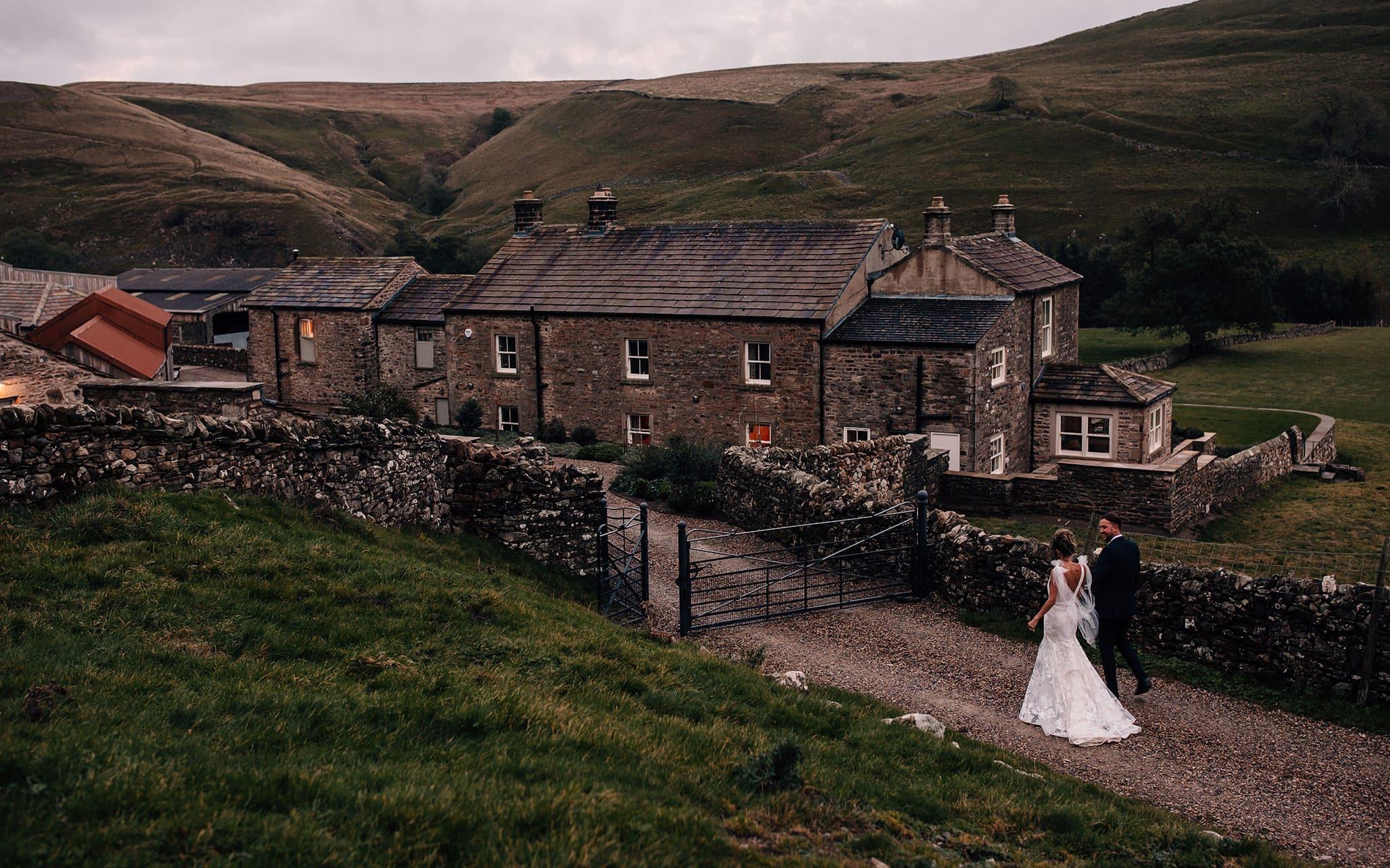 micro wedding photography North Yorkshire