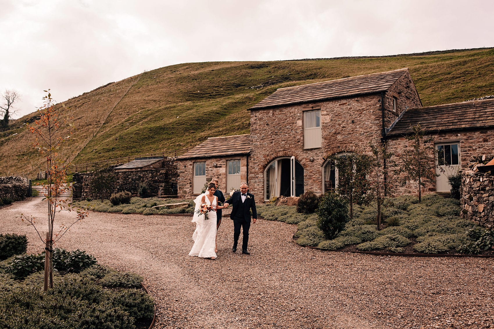 Yorkshire Dales intimate wedding photographer
