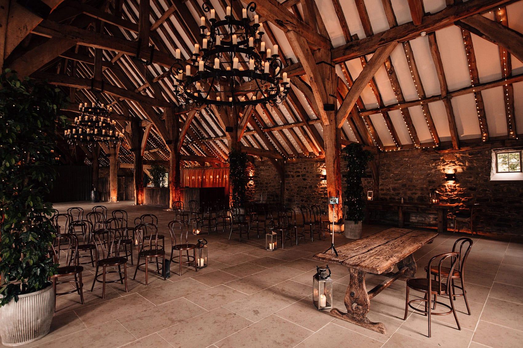 micro wedding venue Tithe Barn