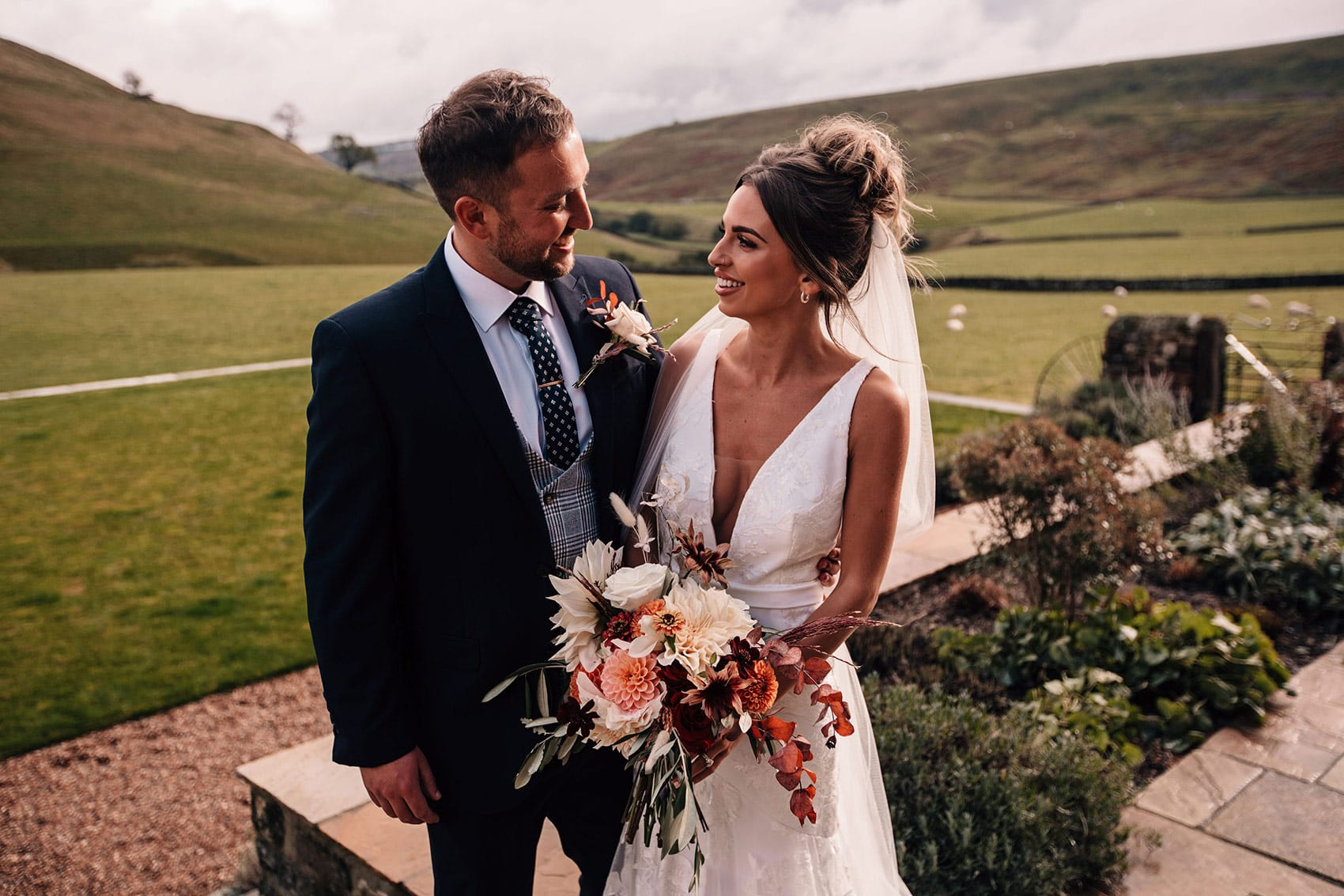micro wedding venue Yorkshire Dales Telfit Farm