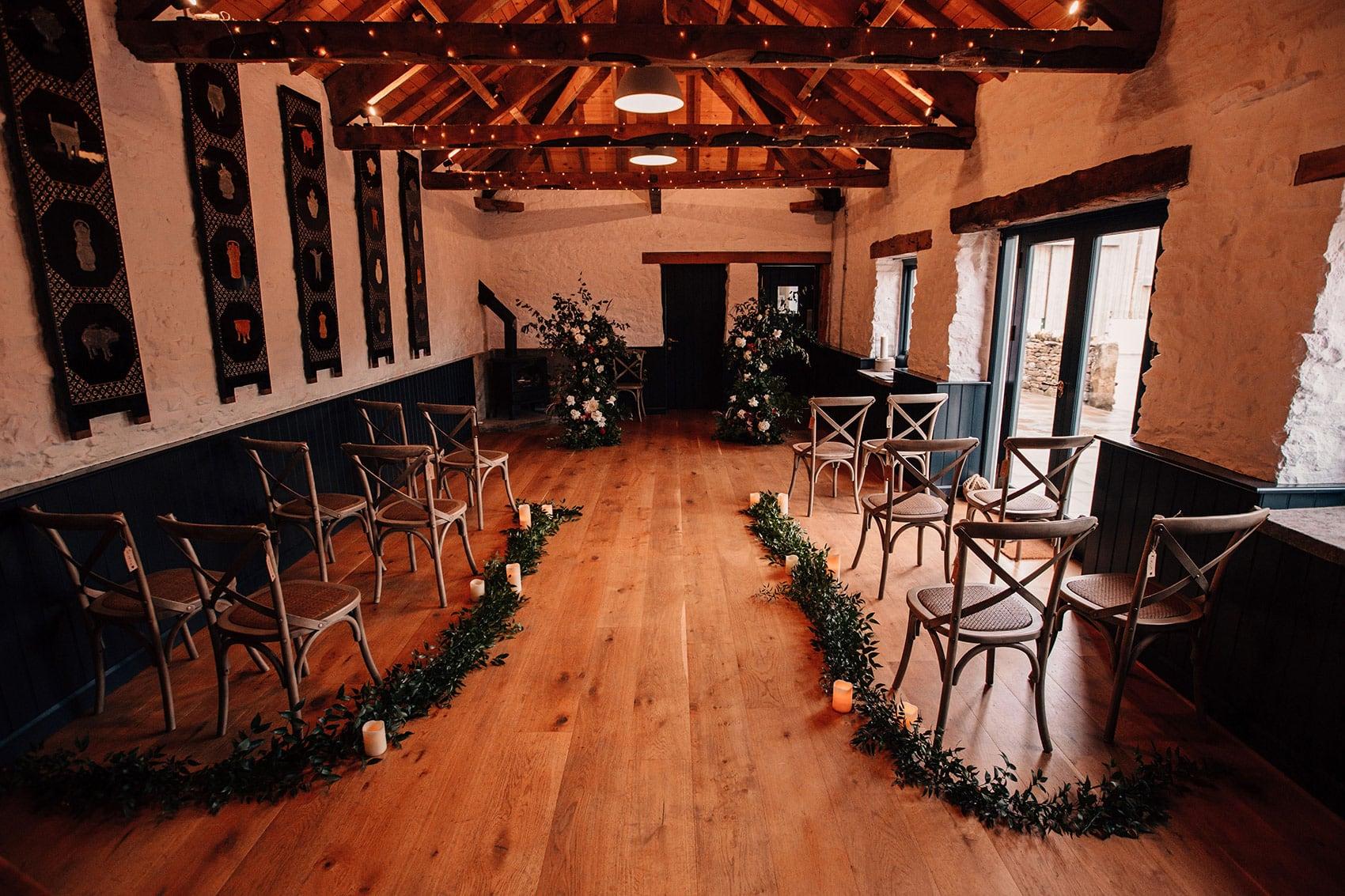 micro wedding venue telfit farm