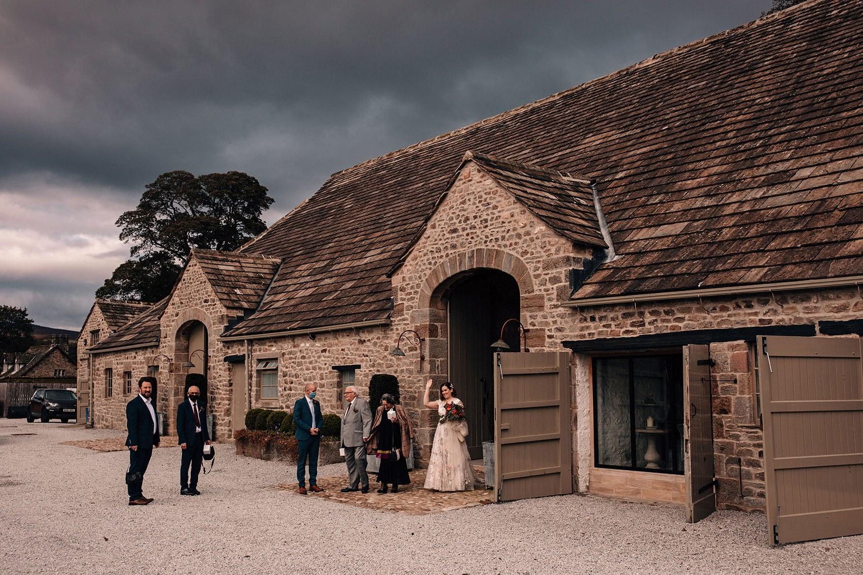 small wedding Tithe Barn Bolton Abbey
