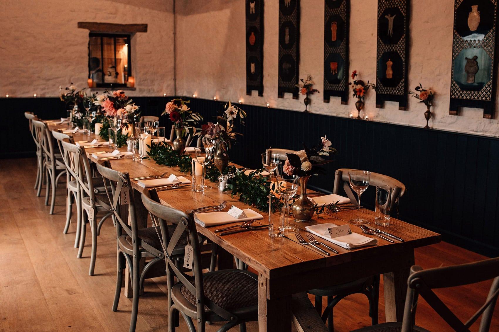 small wedding venue telfit farm