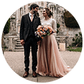 wedding photography Yorkshire testimonial circle 2
