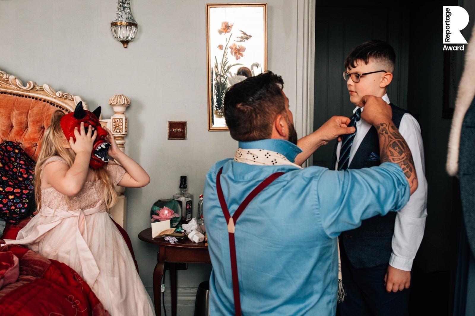 award winning wedding photographer image
