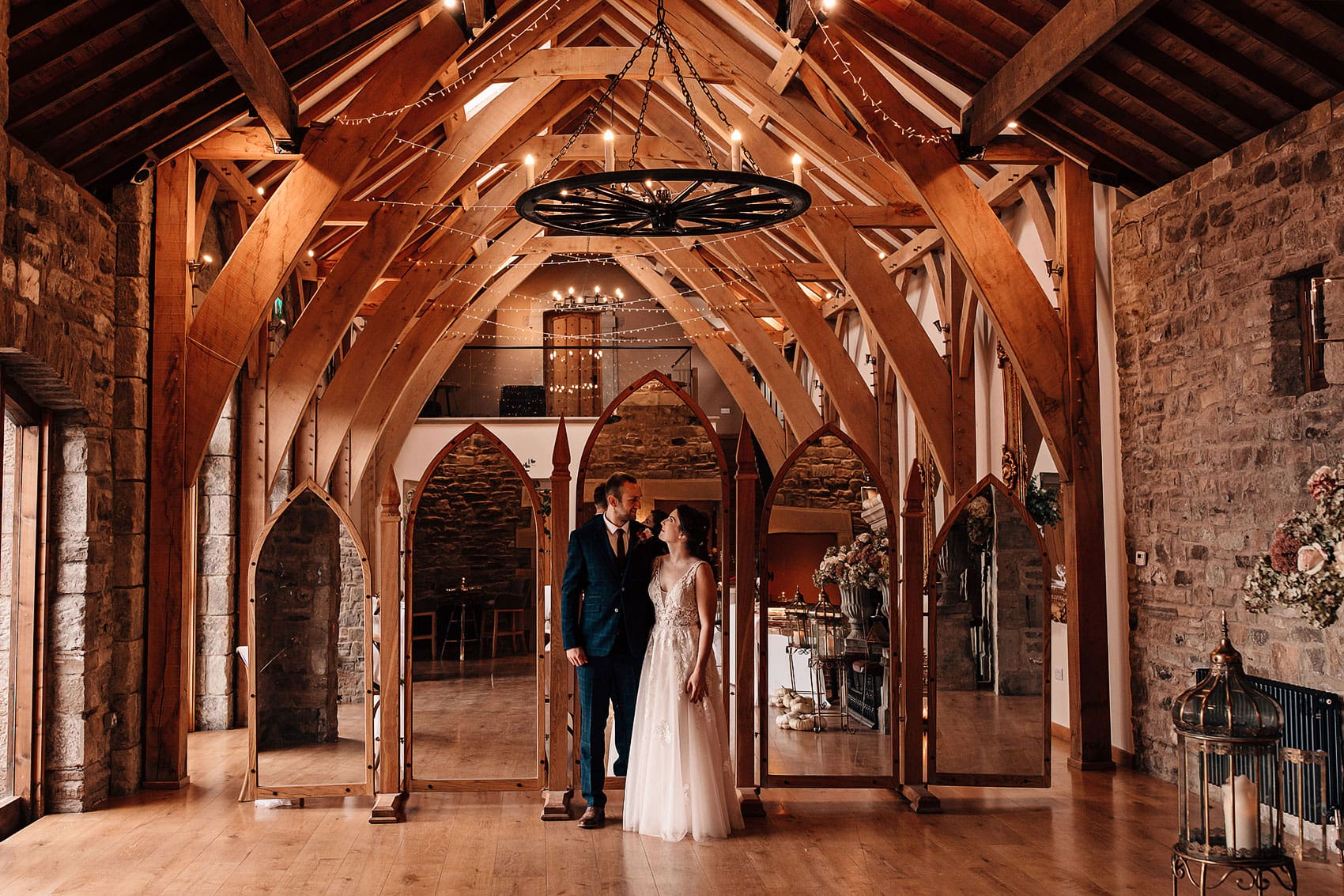 The Saddle Rooms Bell Barn intimate wedding